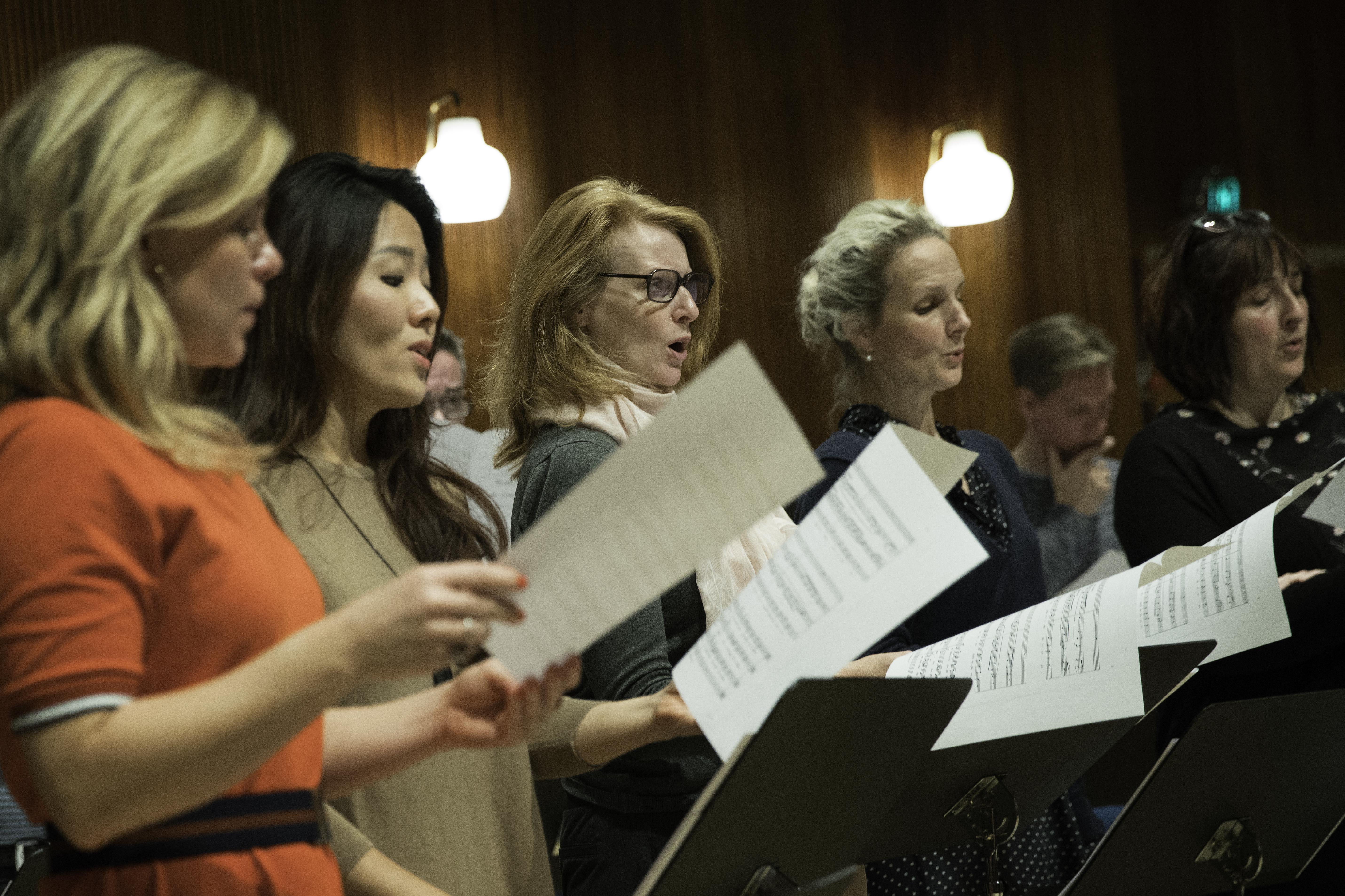 DR Vokalensemblets undervisning på konservatoriet