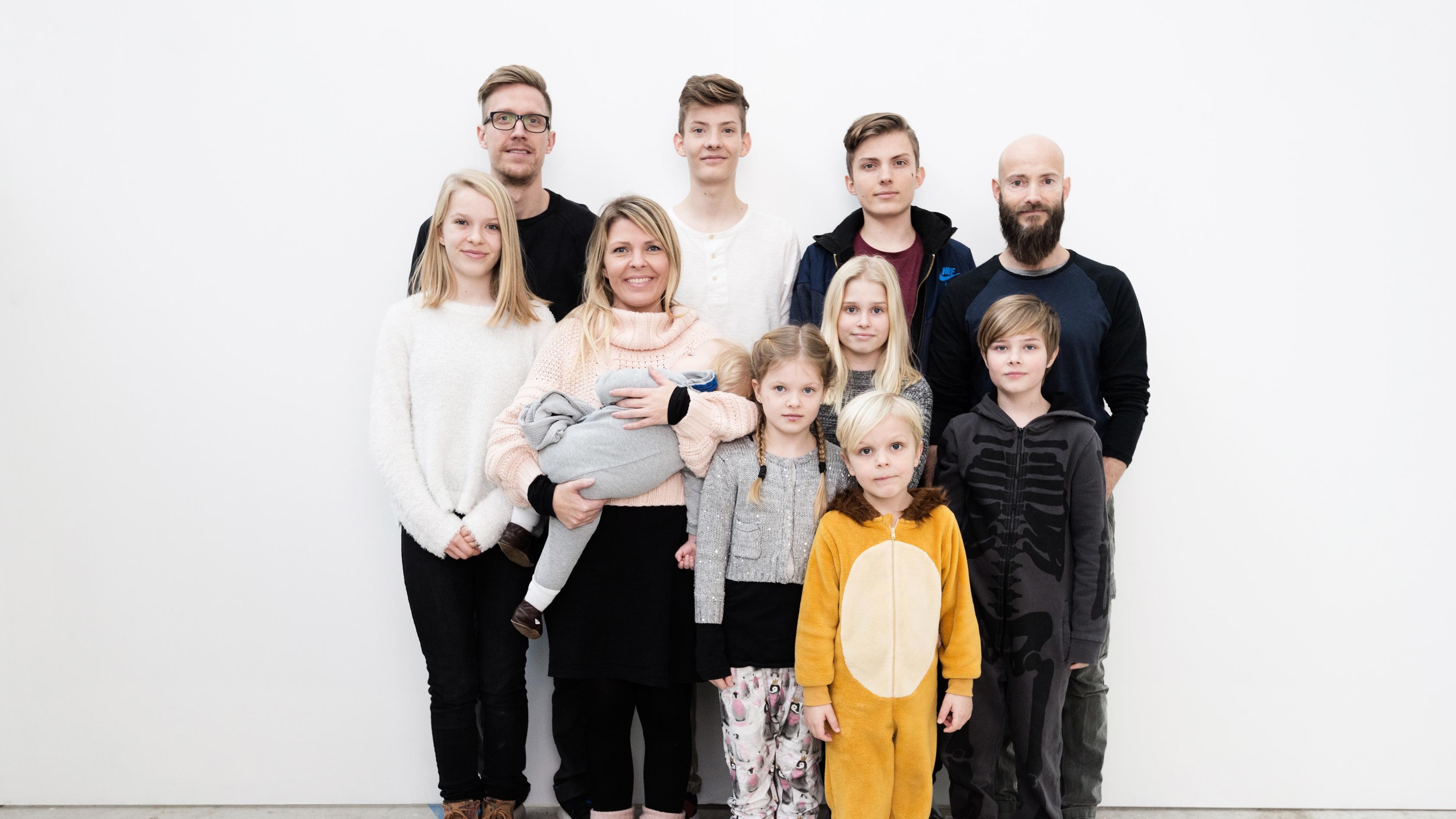 En stor familie