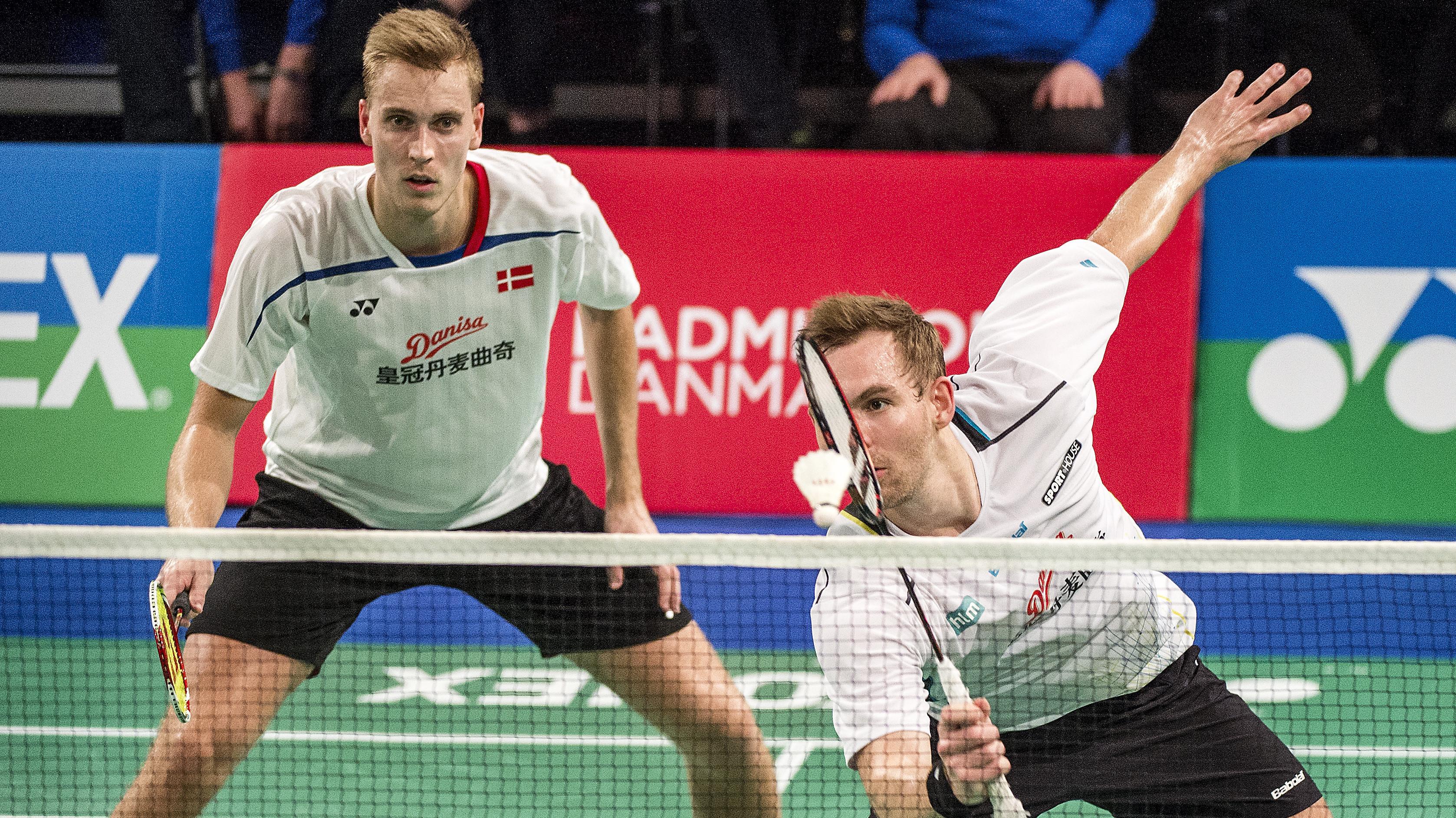 Herredouble sl¥r japanere og er i Super Series finale Badminton