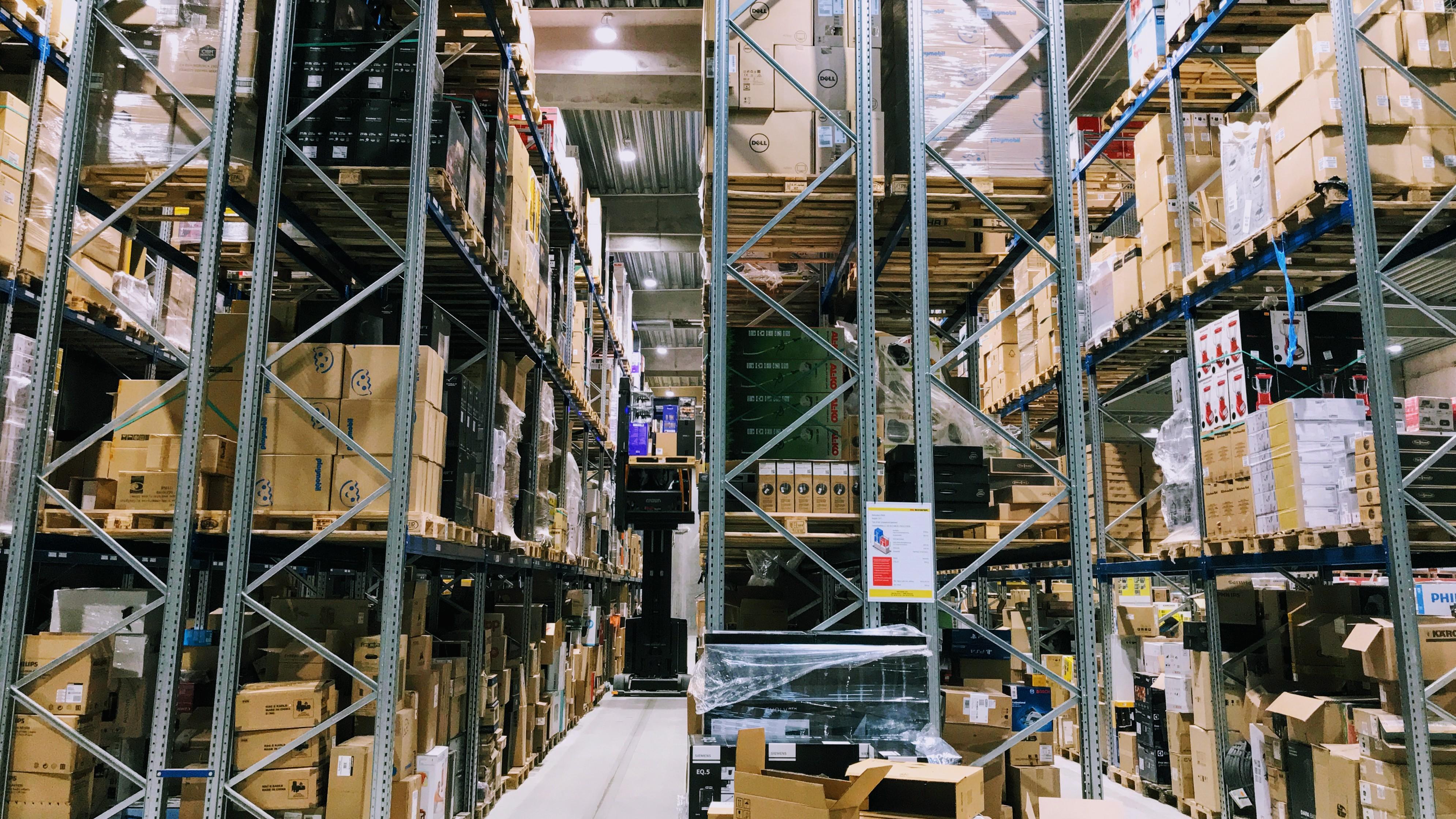 Proshops lager ved Aarhus