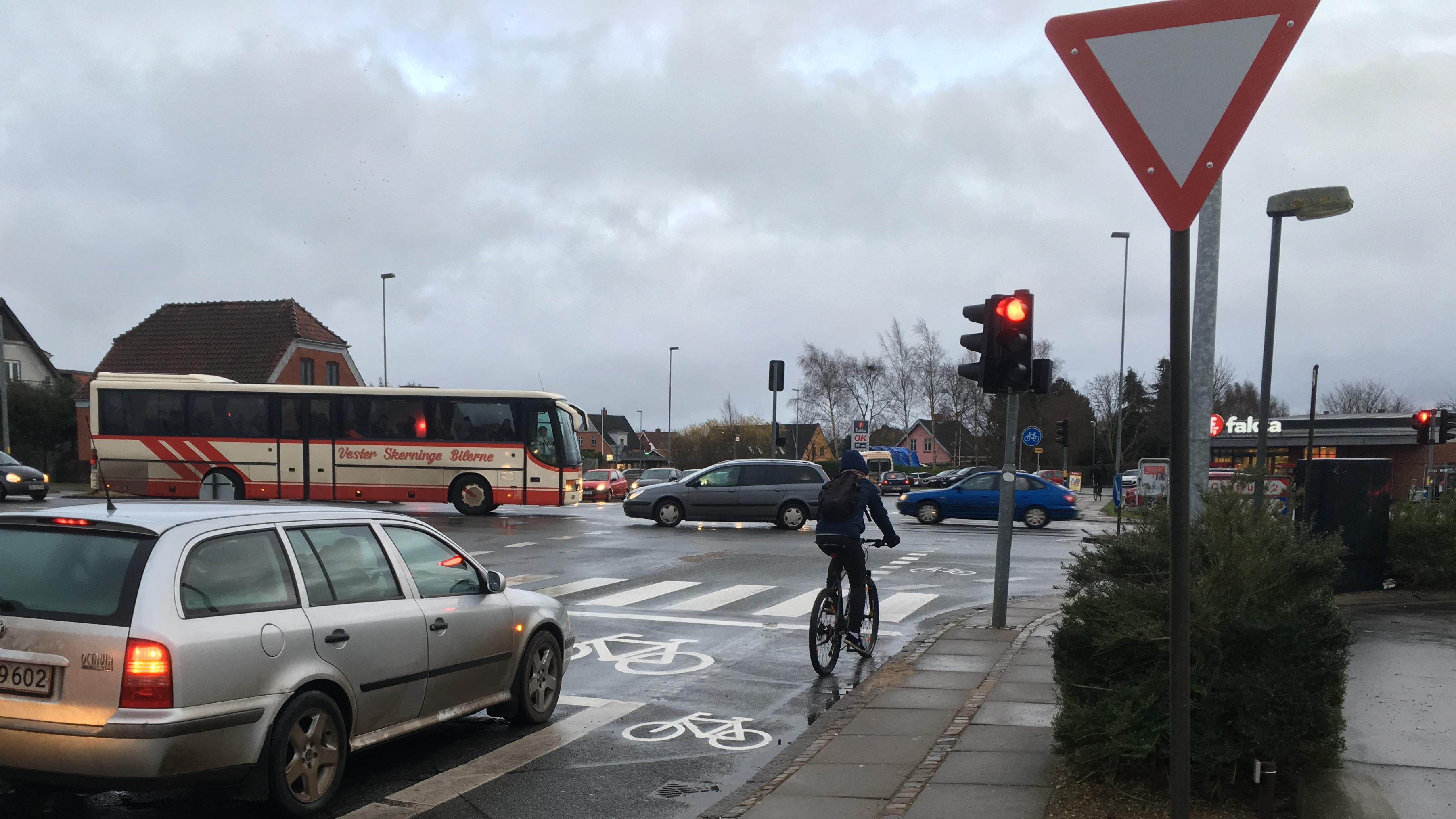 Cykelboks i Svendborg