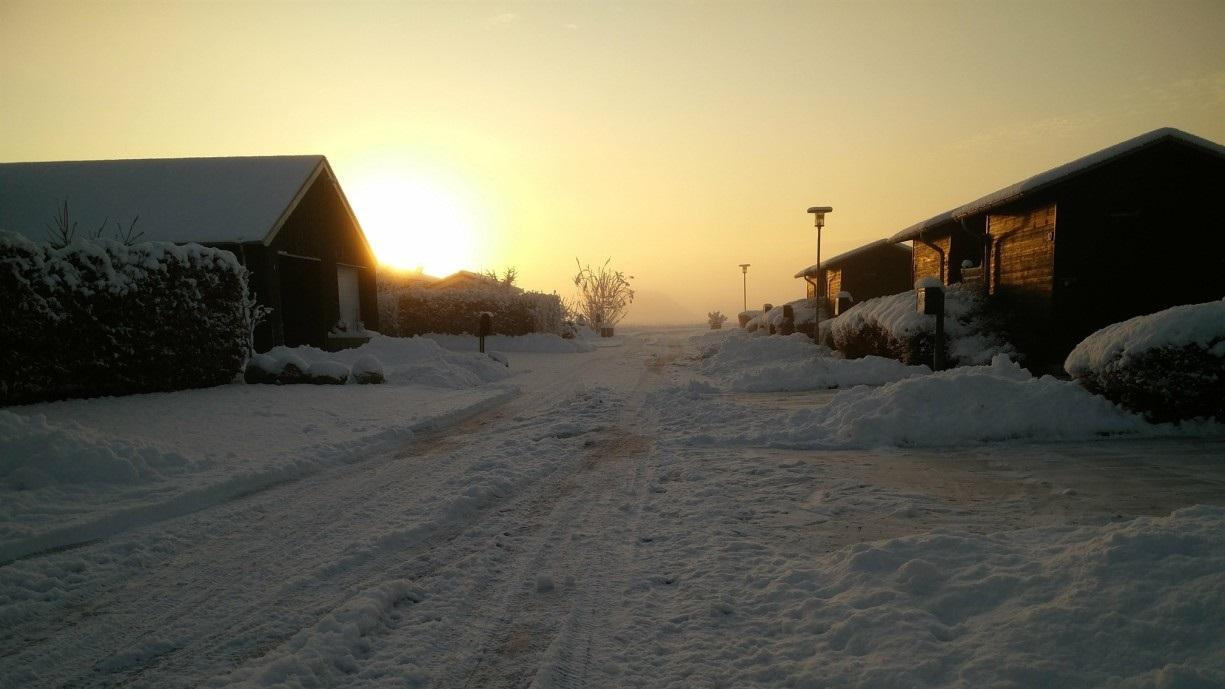 sne, solopgang