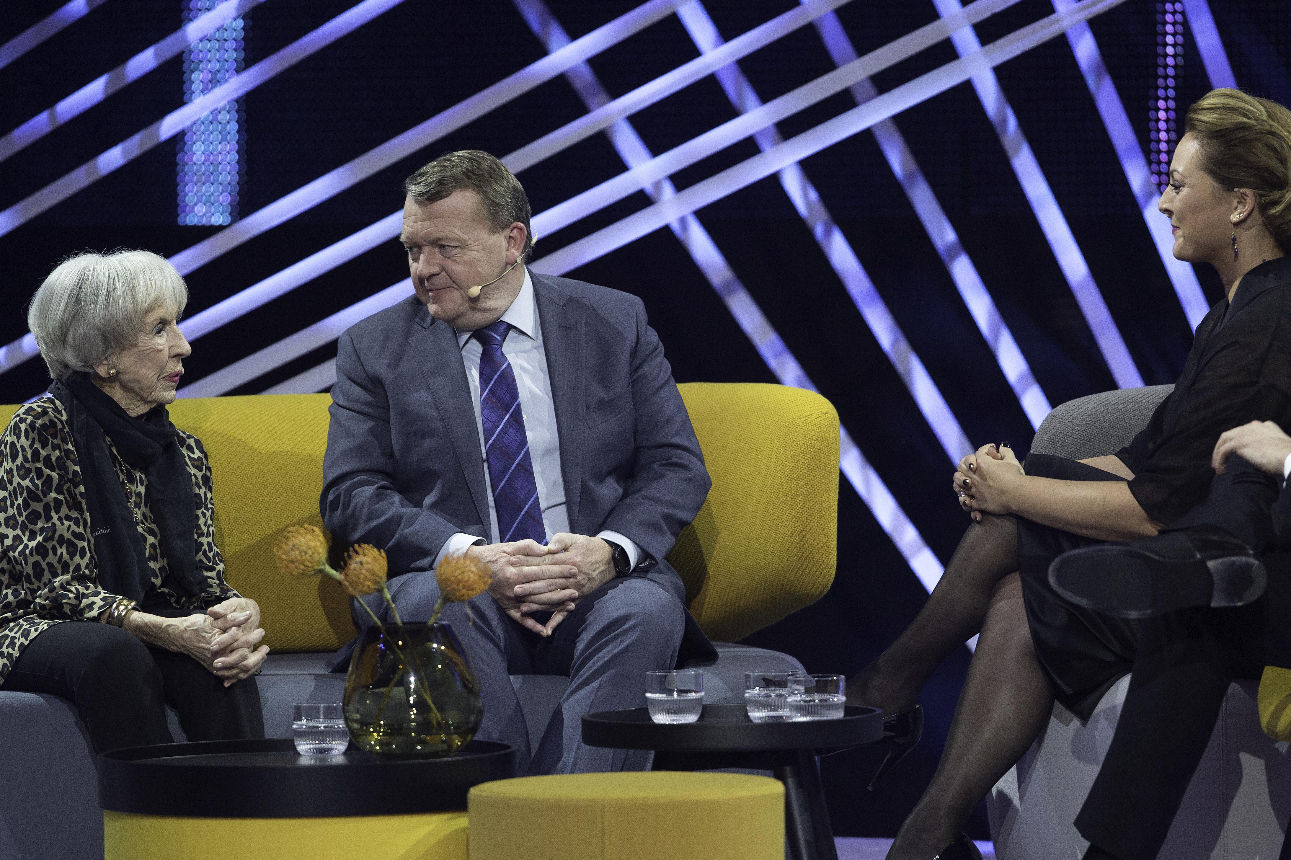 Lise Nørgaard og Lars Løkke Rasmussen