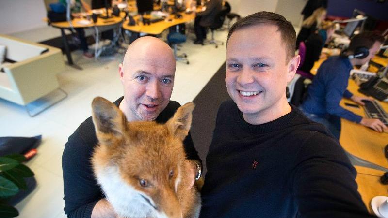Henrik Povlsen og Jesper Holm