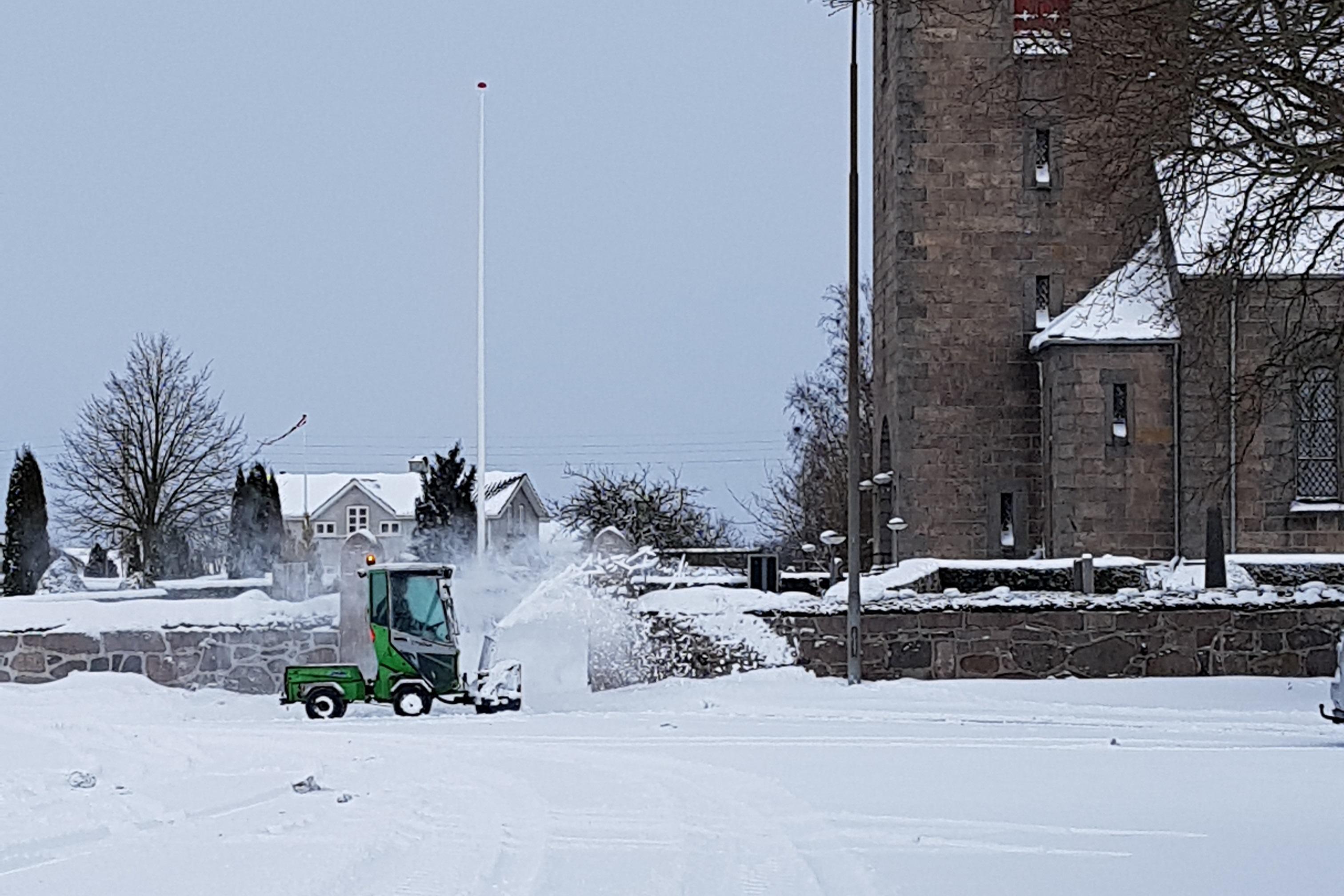 Bornholm sne
