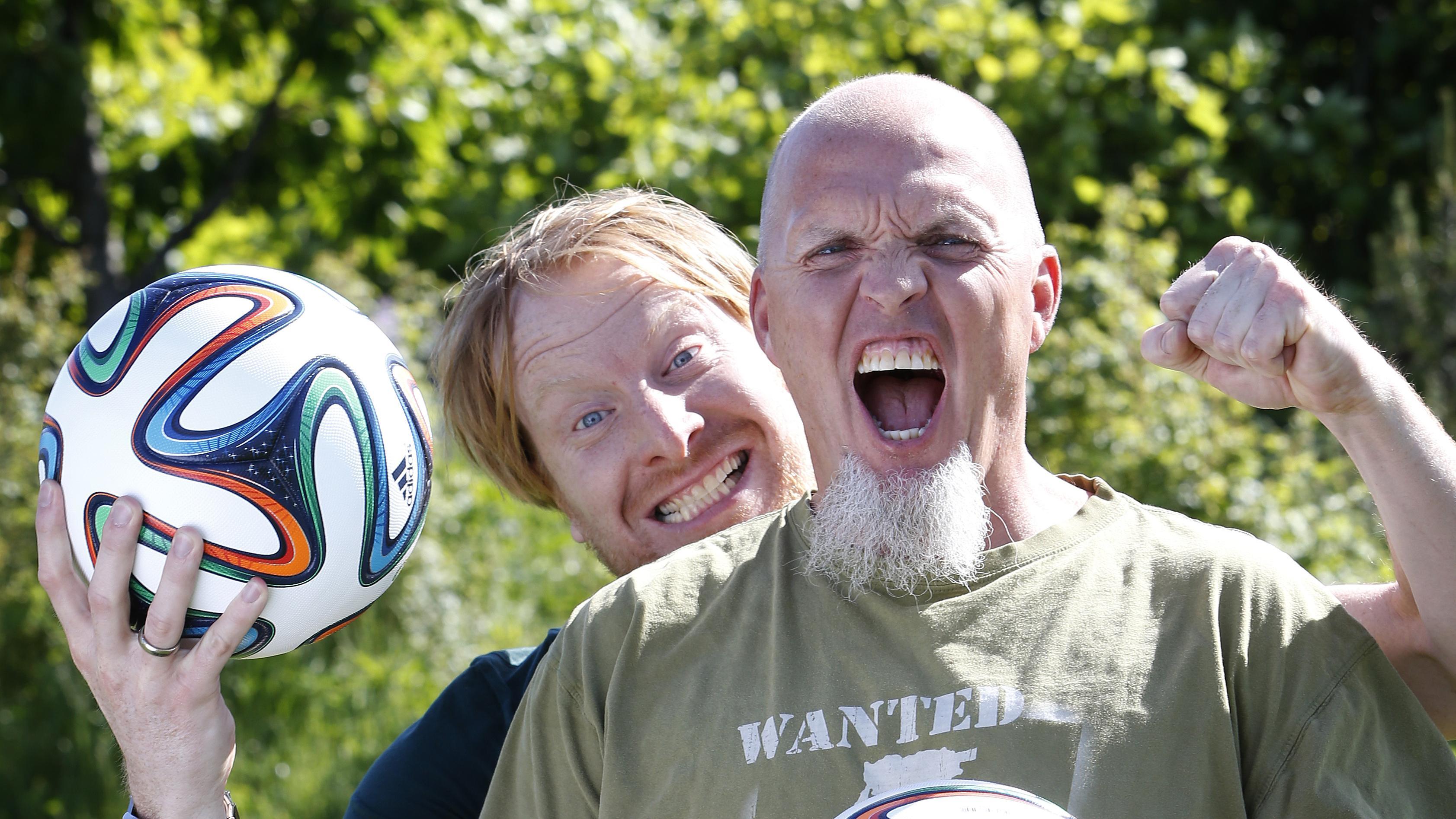 Morten Hausborg og Andreas Kraul