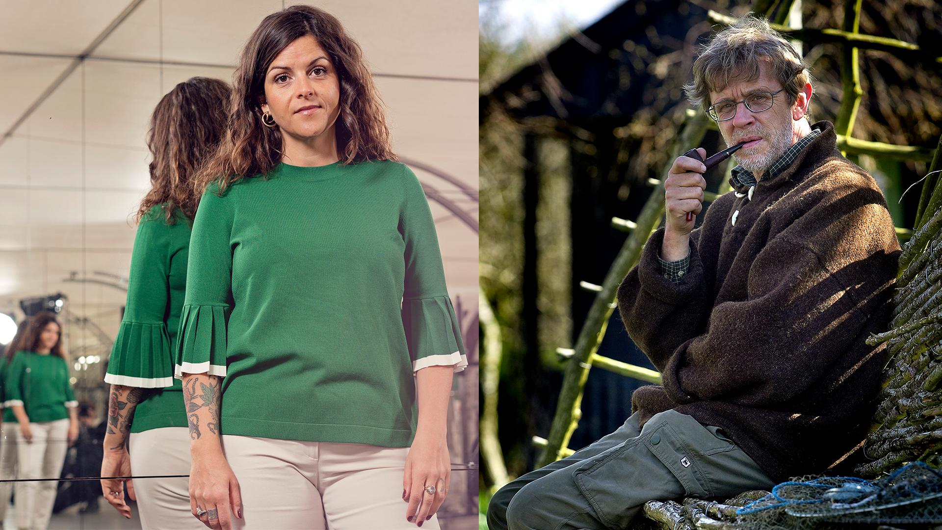 Søren Ryge og Petra Nagel