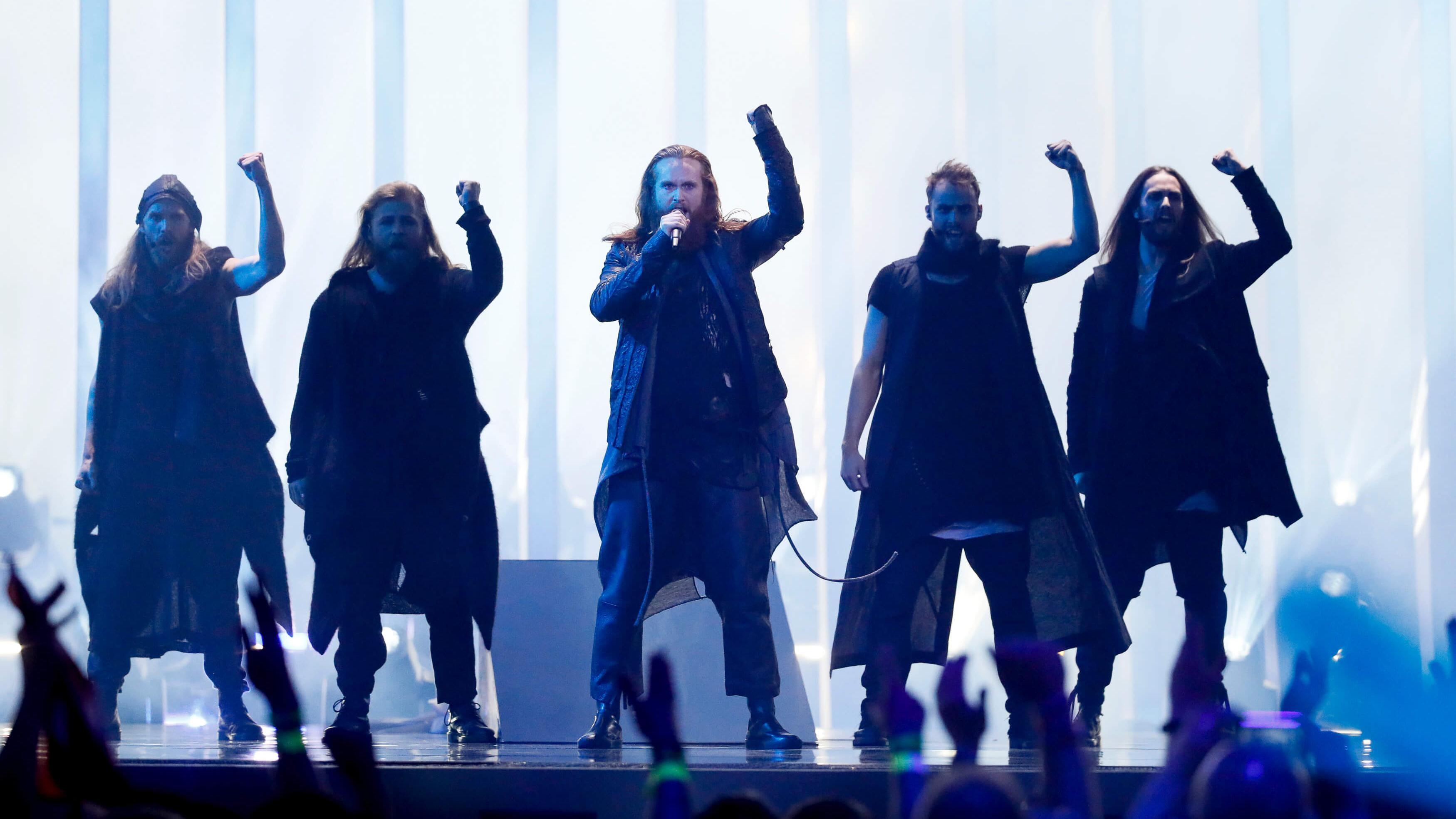 Rasmussen i Eurovision 2018