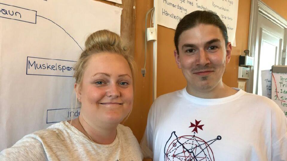 Mette Kathrine Nielsen og Søren Wellejus Angst