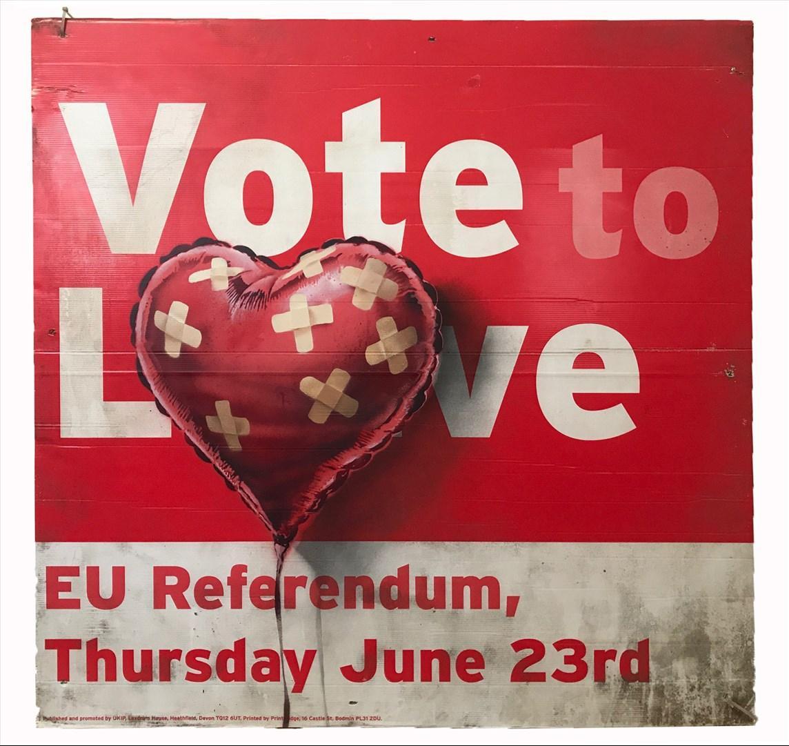 Banksy Vote to Love