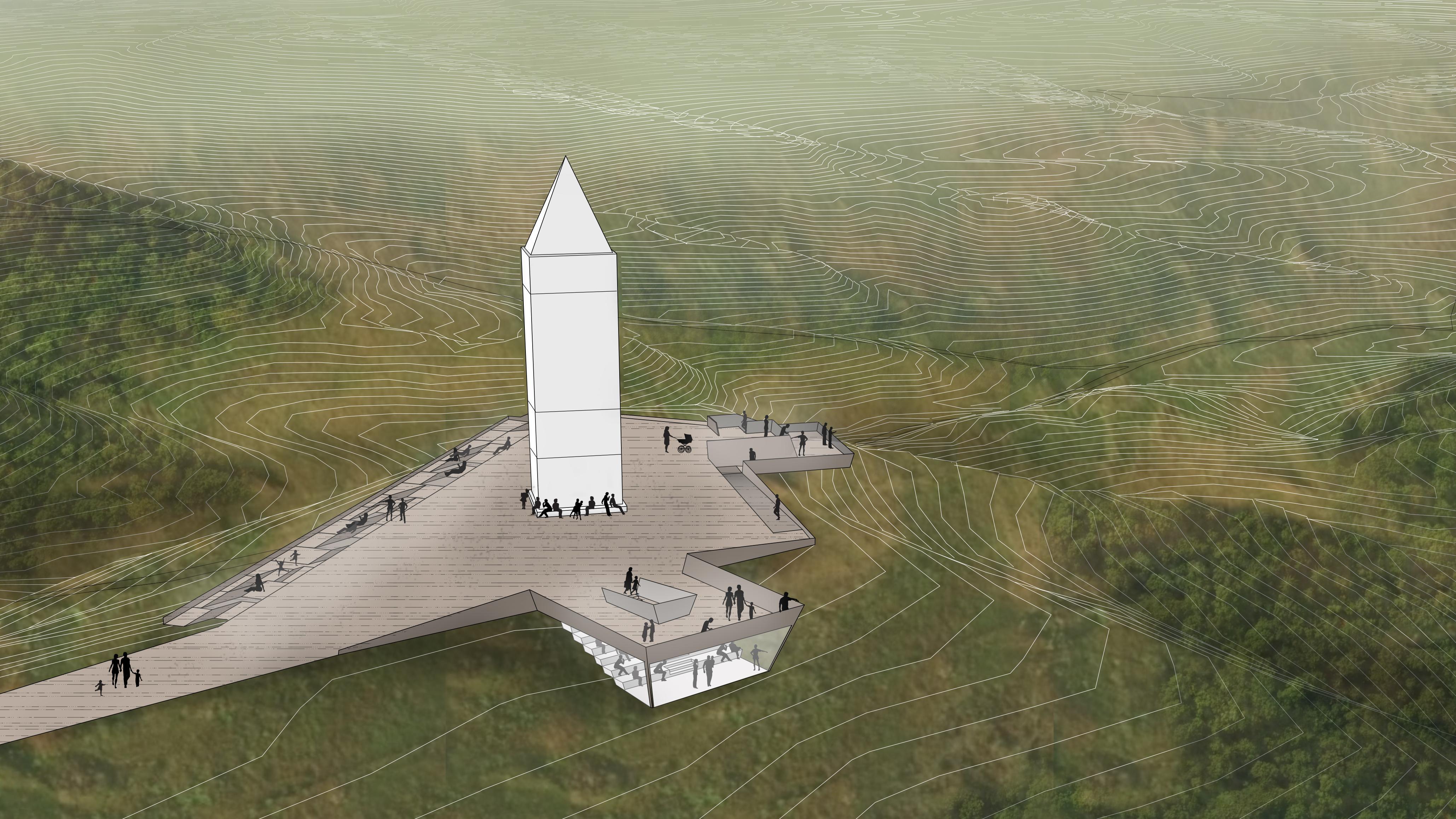 visualisering af fornyelsesplaner på himmelbjerget
