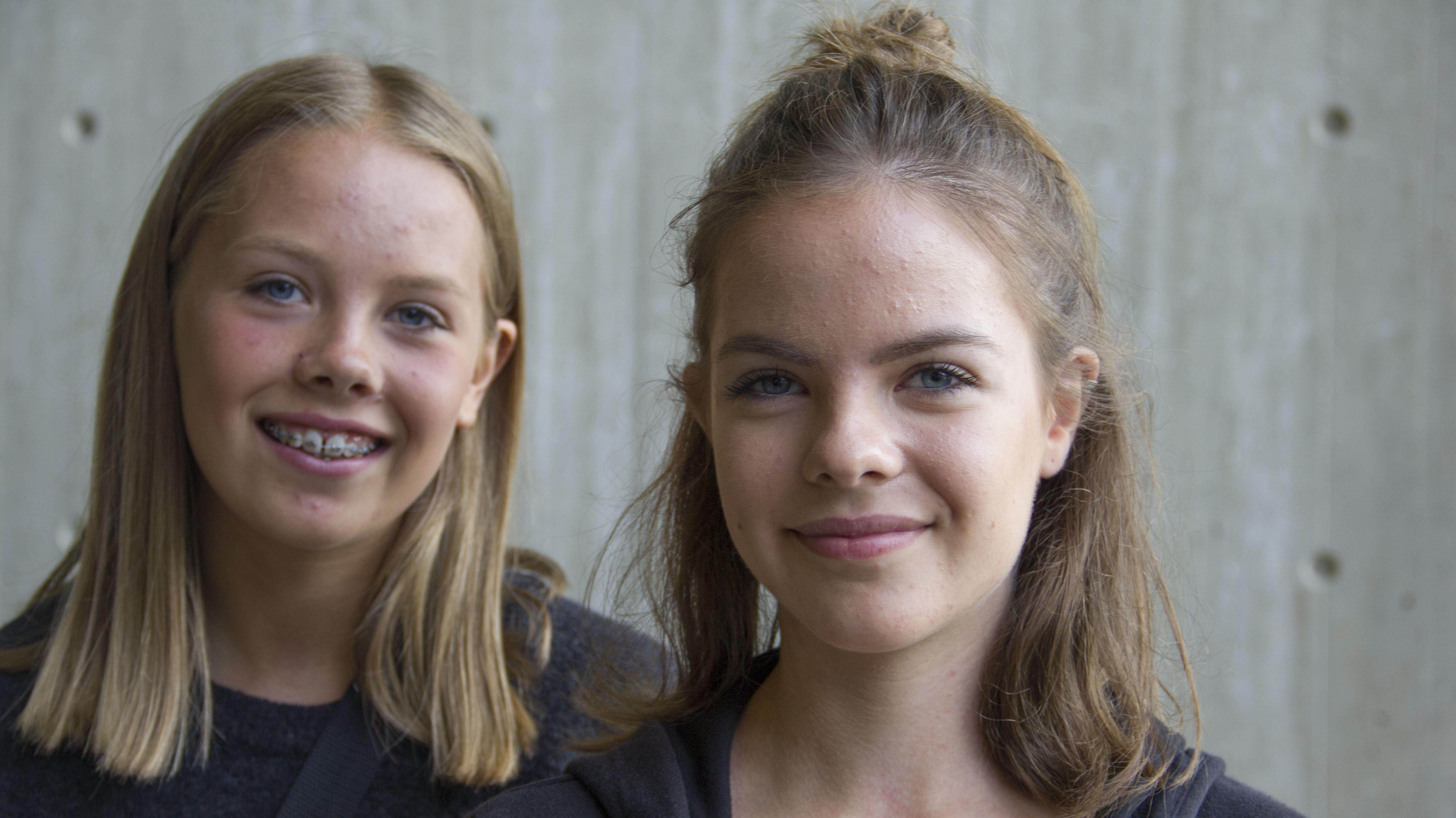Julie og Ida Bredkjær Thomasen