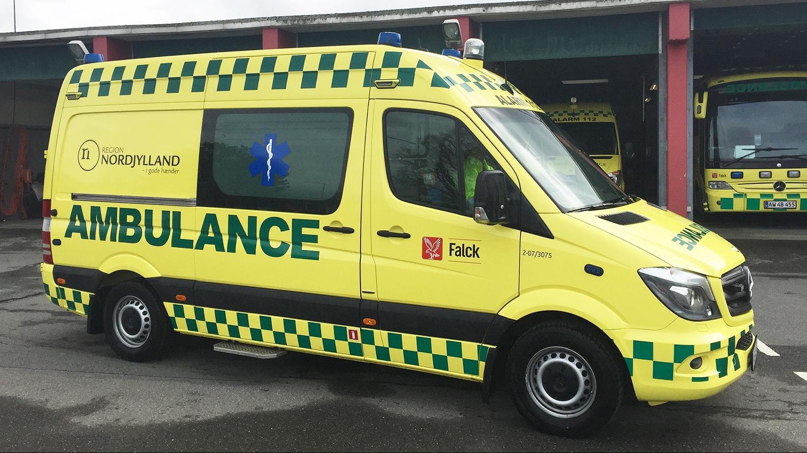 ambulance nordjylland