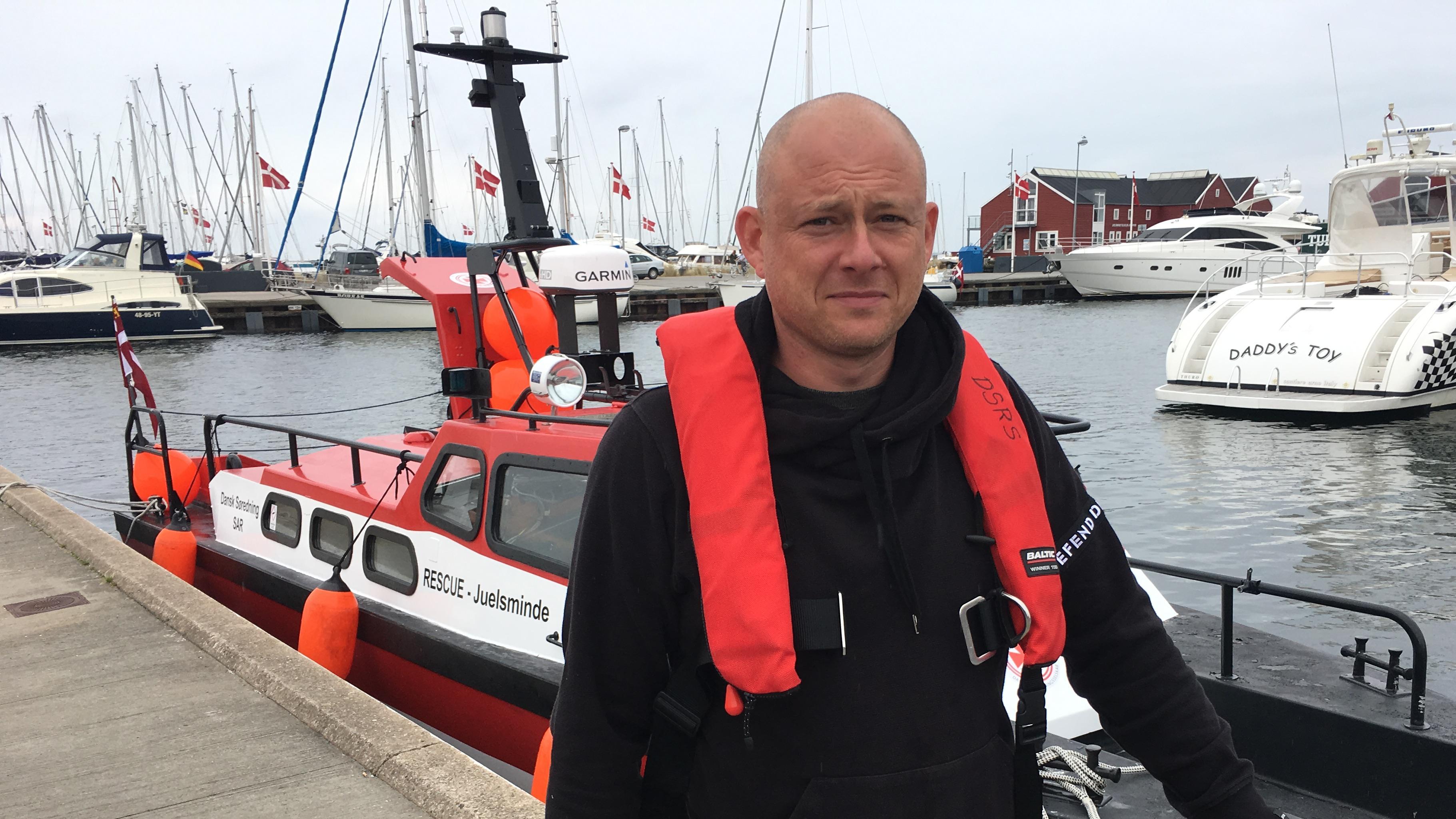 Thomas Strøbech, Juelsminde, frivillig, Dansk Søredningsselskab
