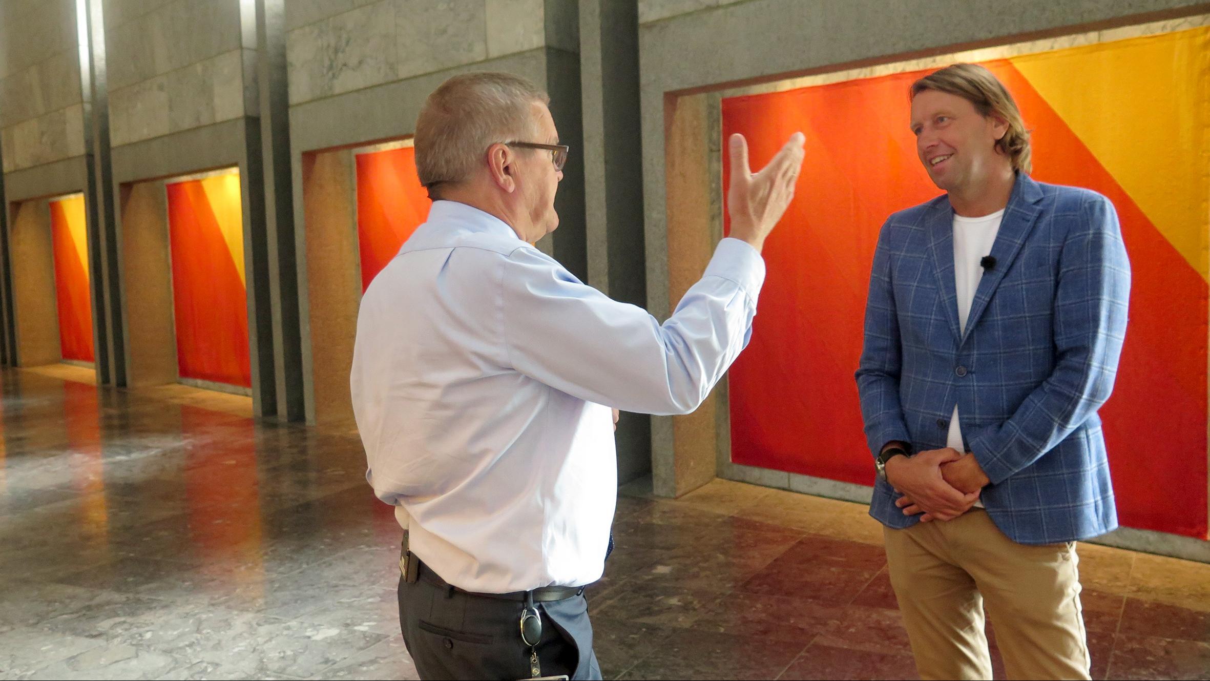 Nationalbanken indefra - med Anders Agger