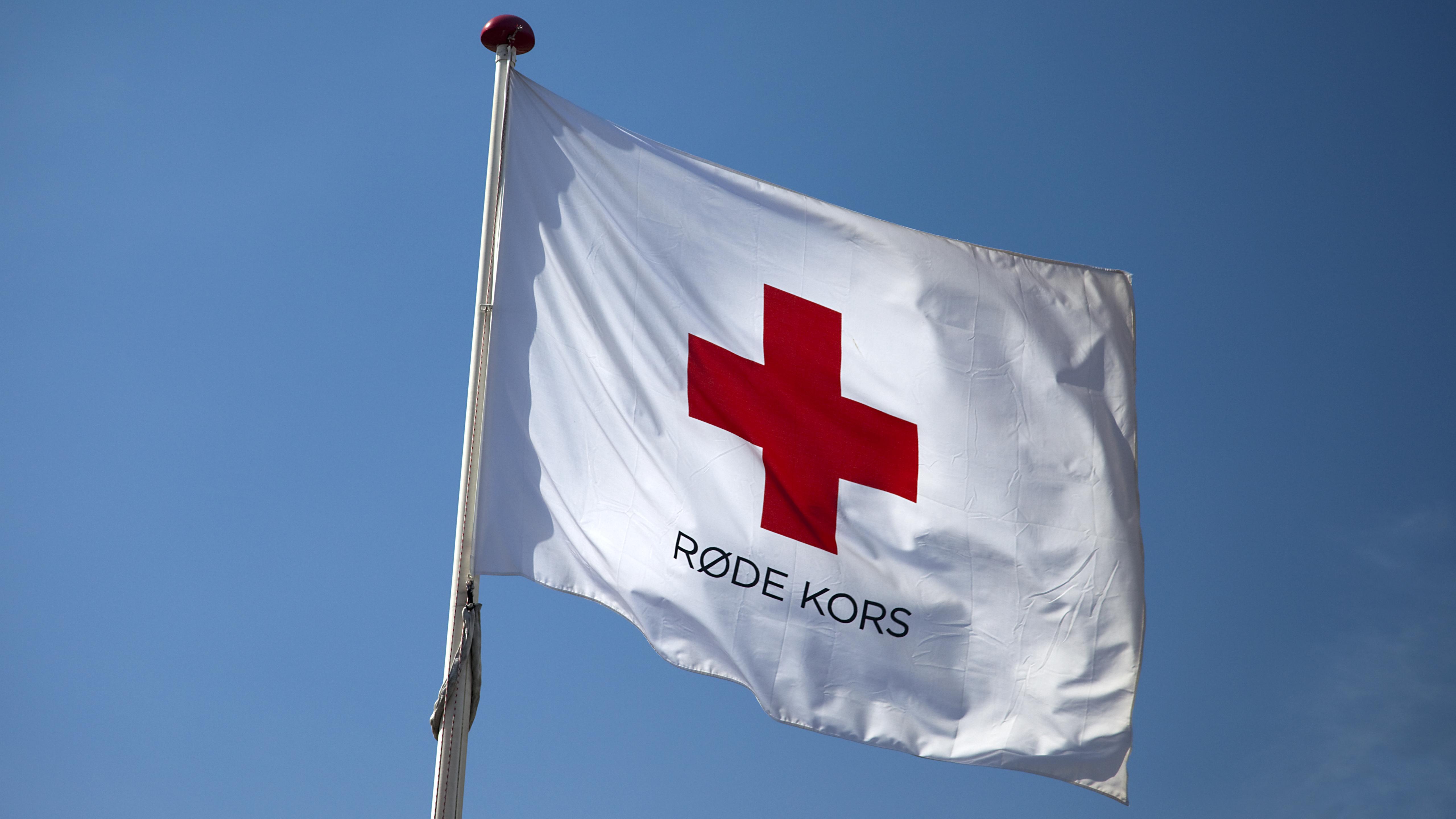 Røde kors pressefoto