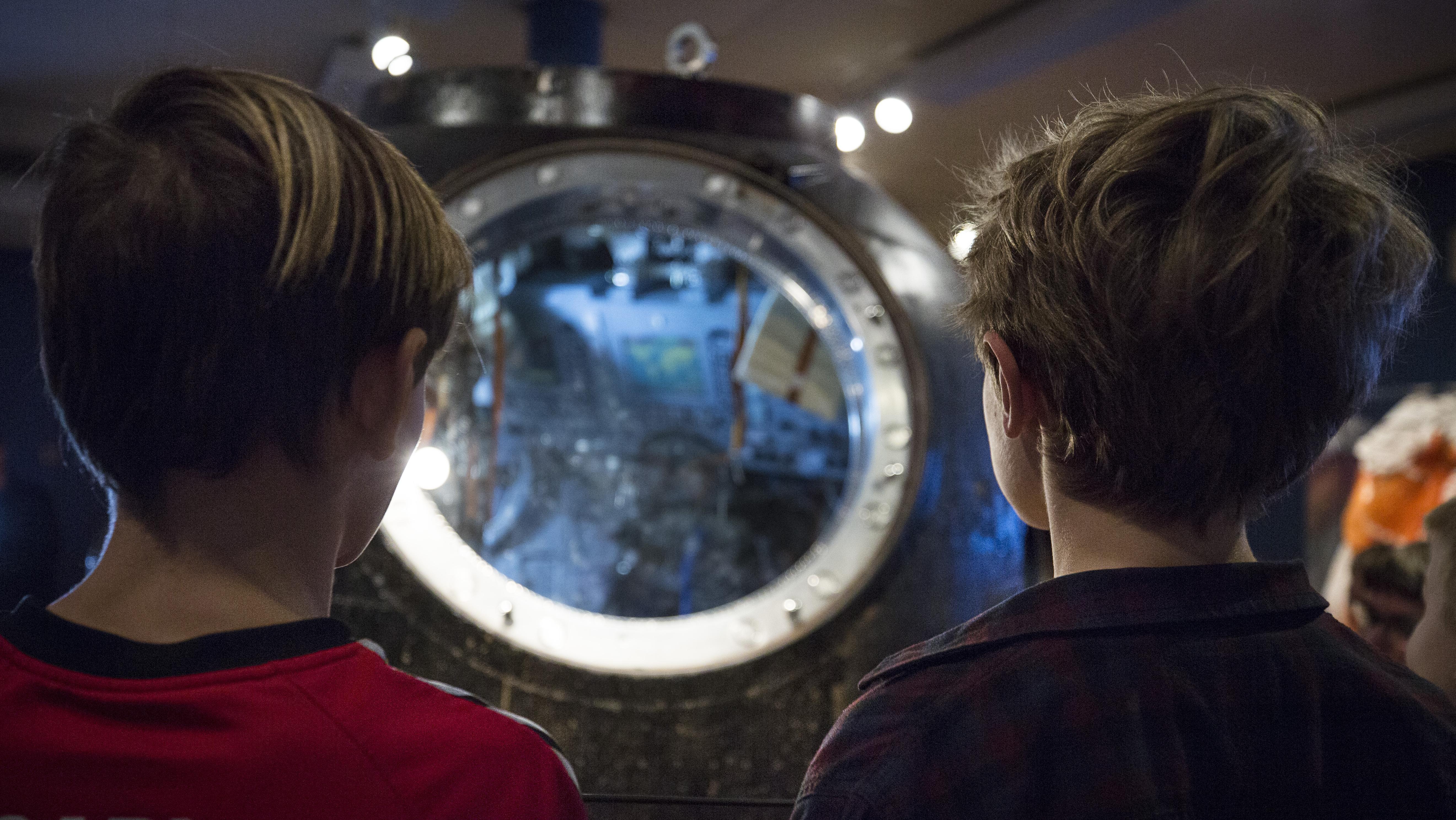 rumkapsel på Steno Museet