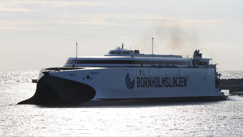 Express 1, Bornholmslinjen, Molslinjen