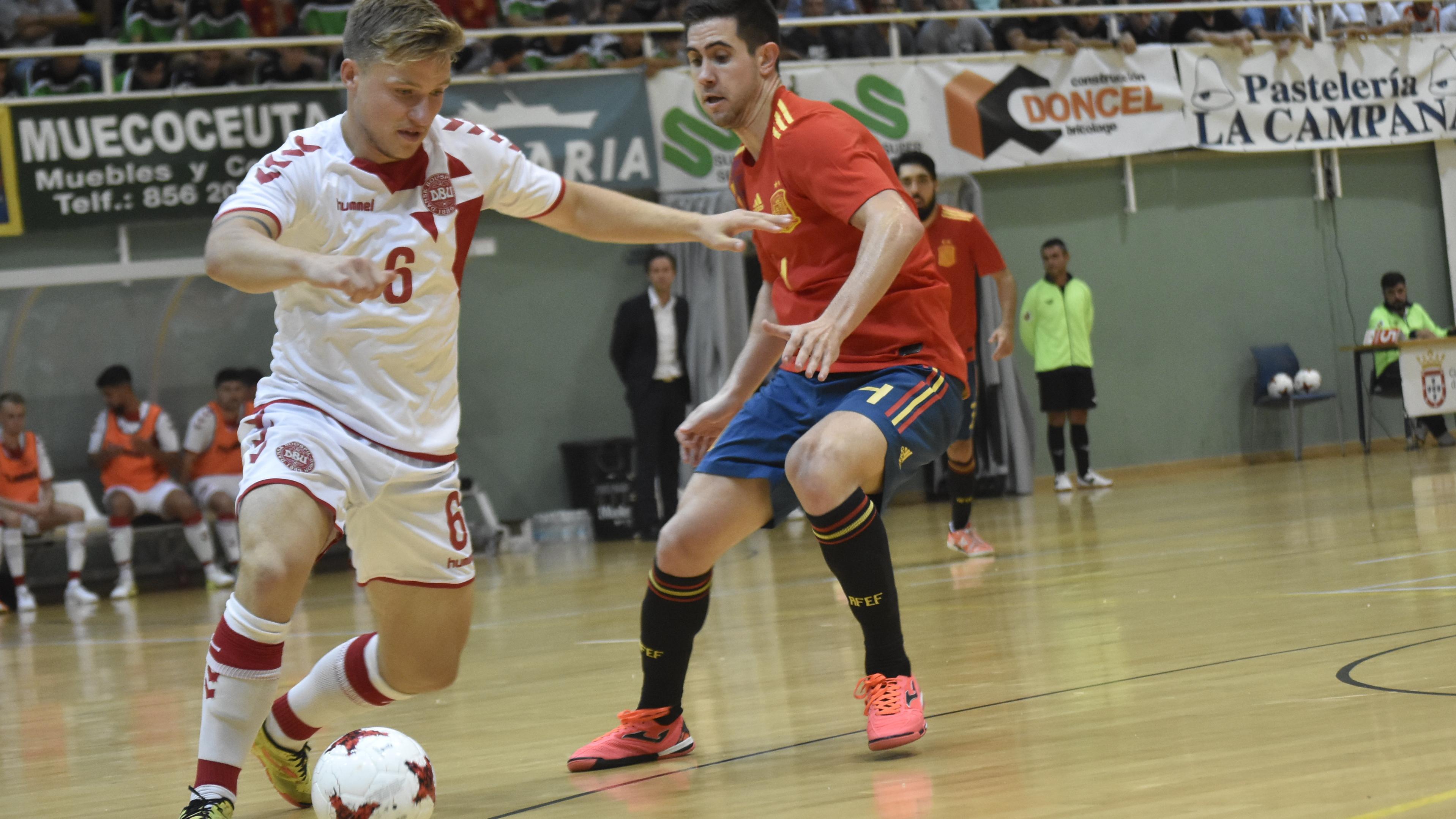 Futsallandsholdet skal spille mod Estland på hjemmebane i Ceres Arena i Aarhus