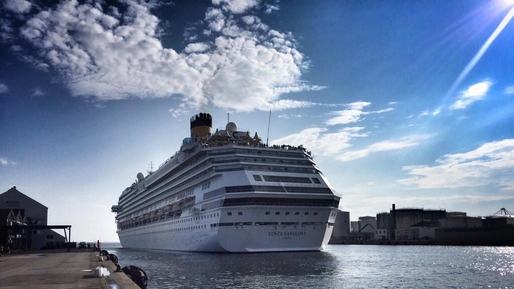 krydstogtskib Costa Favolosa aarhus krydstogt