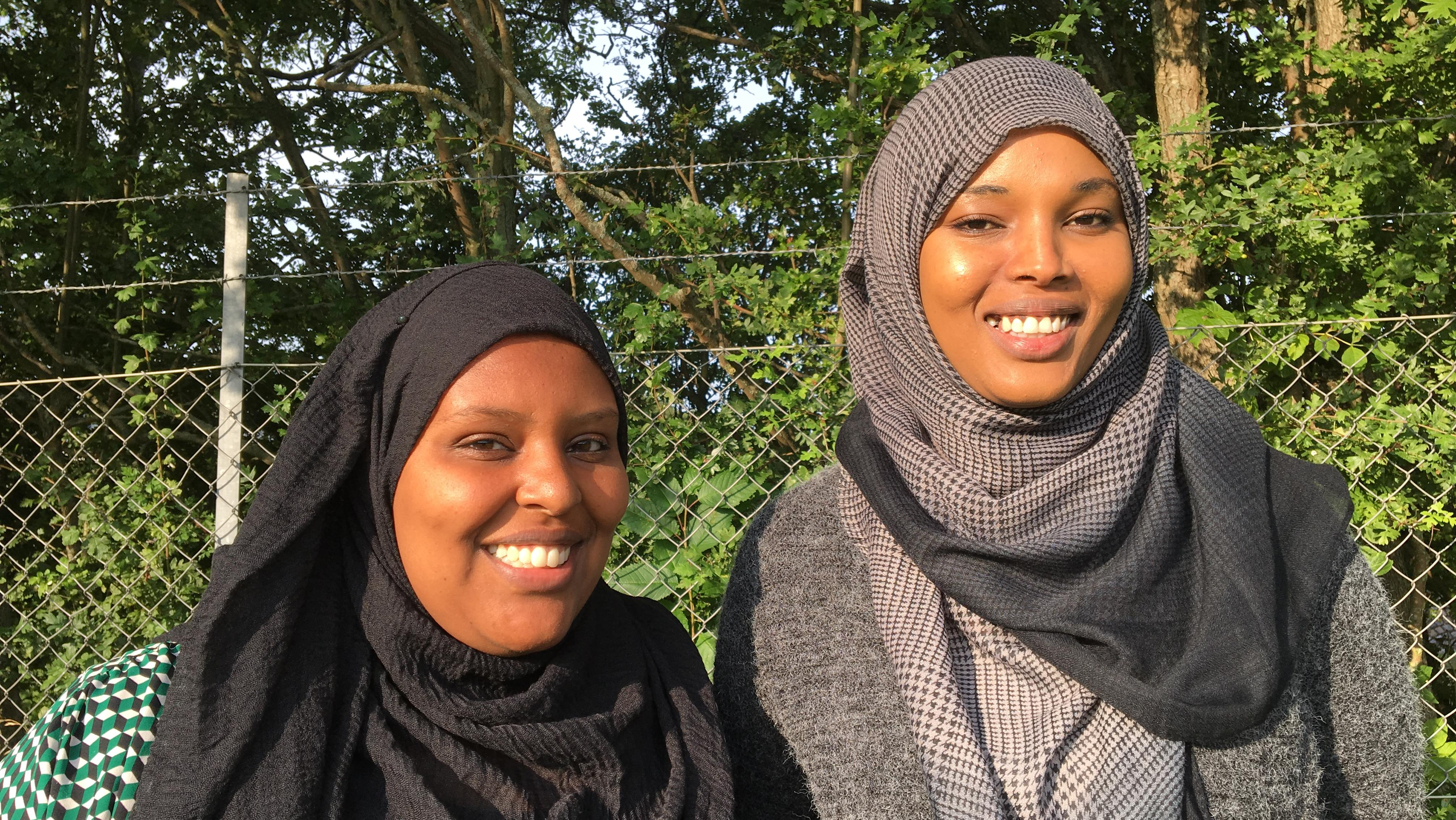 Fatima Yusuf Abdi og Ayan Abdullahi Hussein