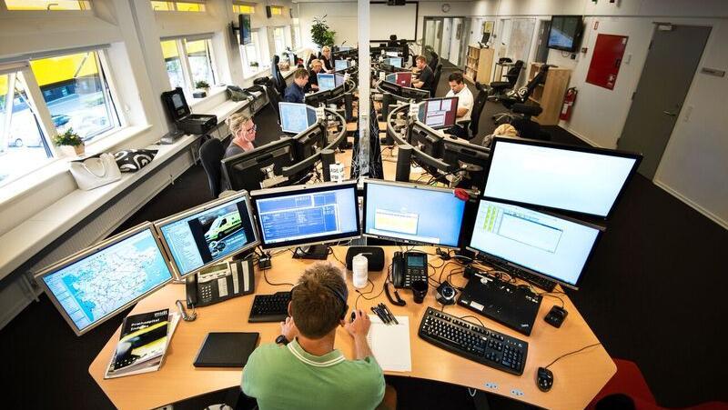 vagtcentral region midt alarm opkald alarmcentral 112