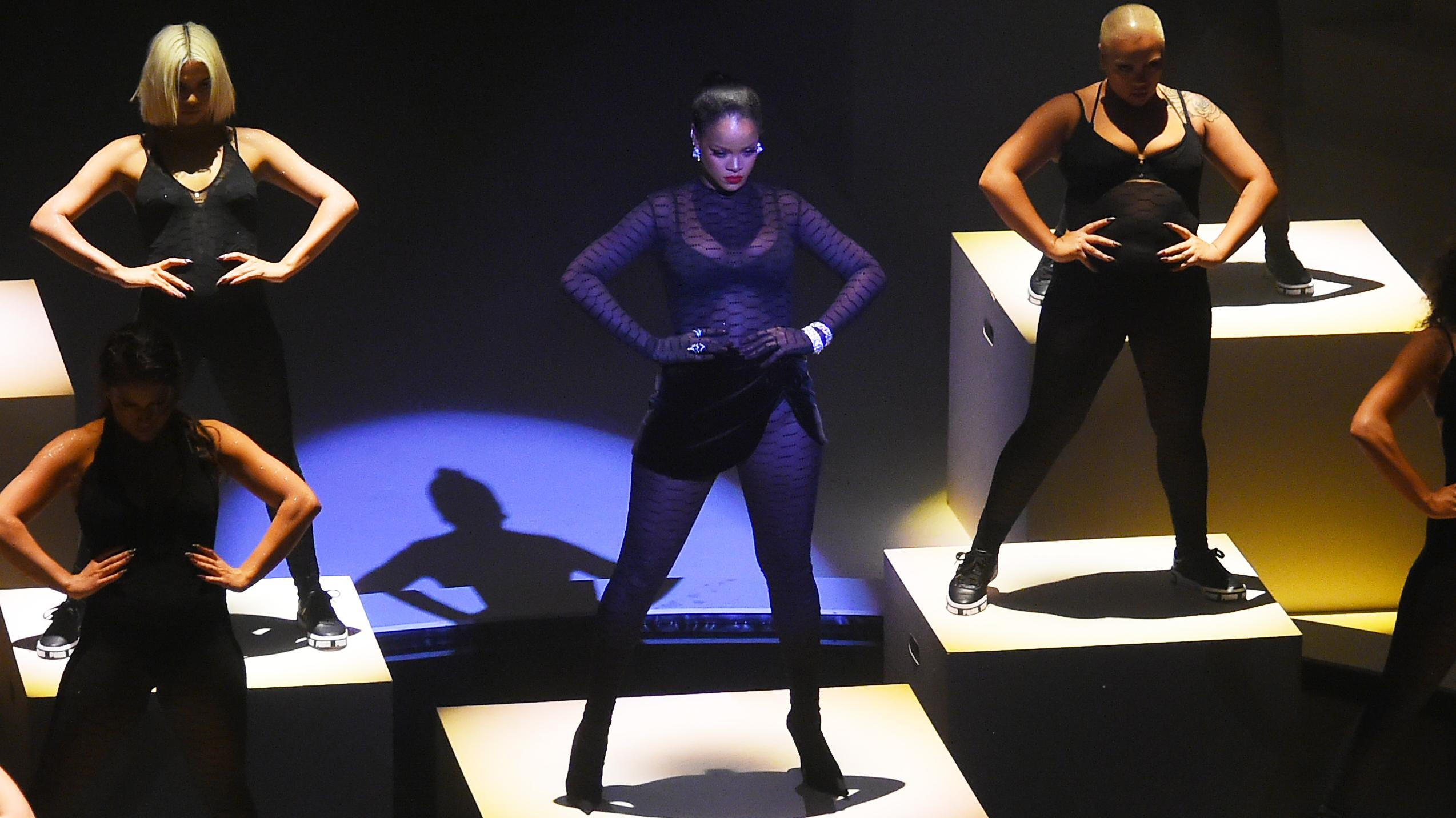 Savage X Fenty show Rihanna