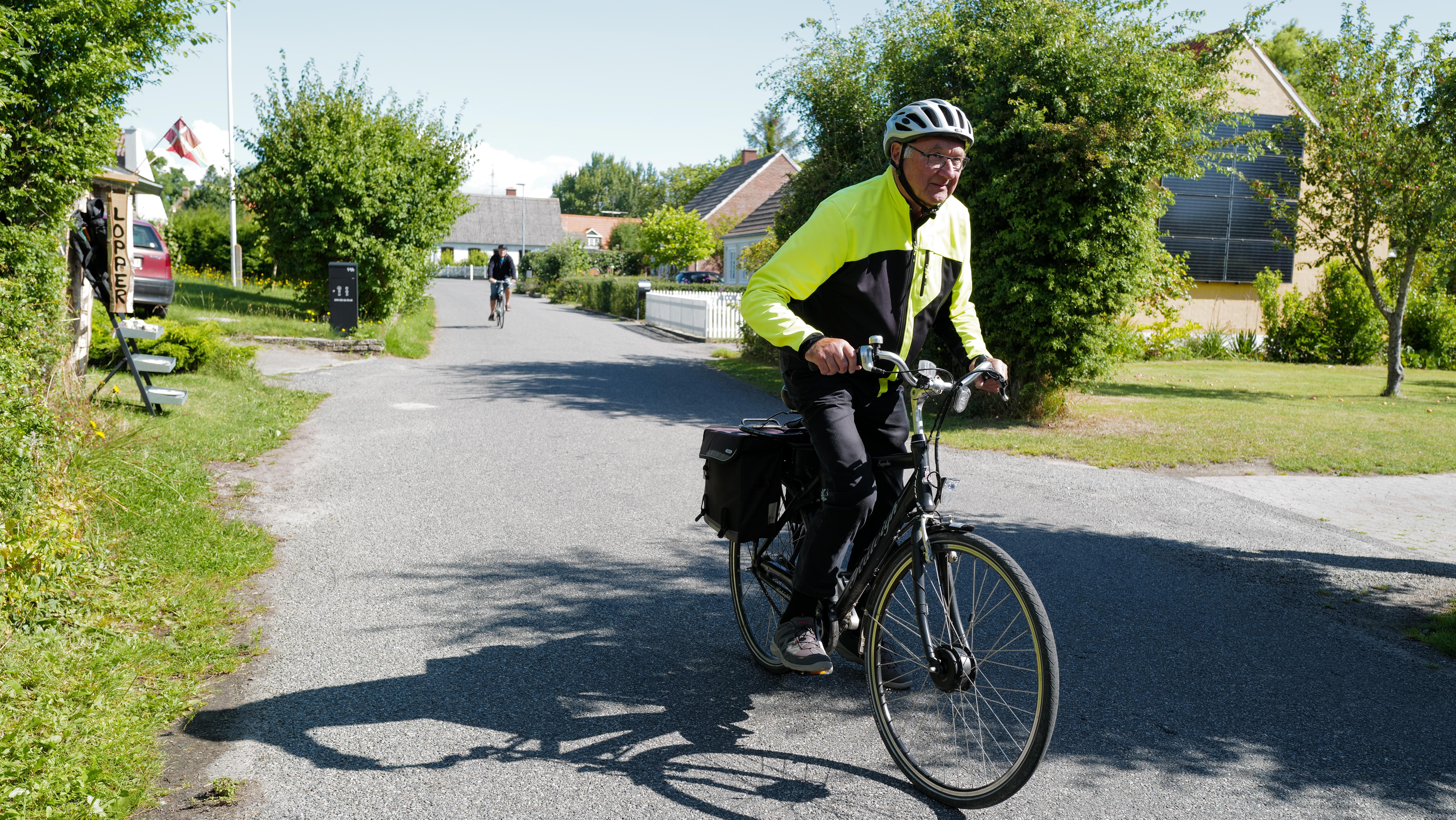 Niels Kristian cykler