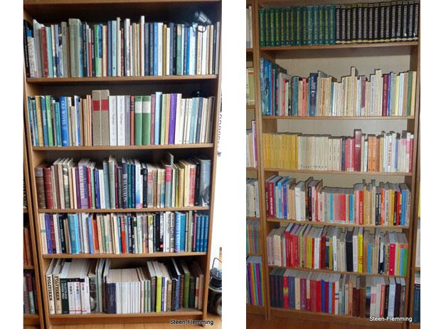 nyheder kultur kulturklubber billedserie snag i danskernes bogreoler
