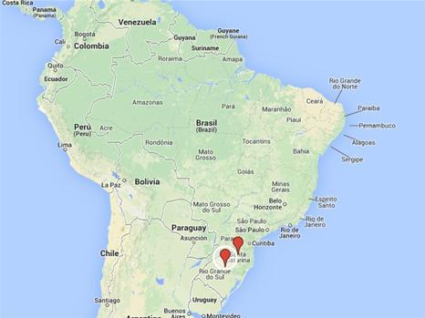 Midt under VM i Brasilien: Oversvømmelser fordriver 41.700 fra deres hjem | Nyheder | DR