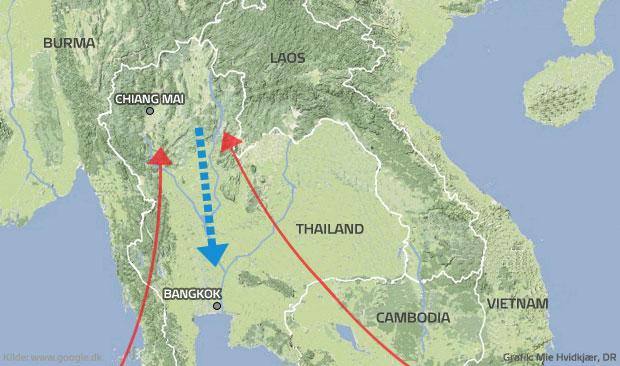 Stor forvirring i Bangkok: Kommer vandet? | Udland | DR