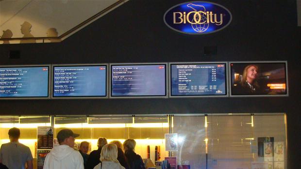 biografer i Aalborg city flise centrum