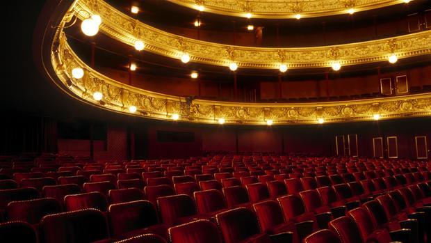 Dr. koncertsal oversigt teater Sjælland
