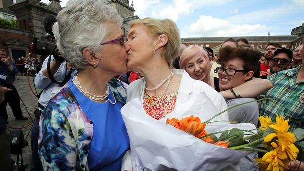 første homoseksuelle ægteskab i verden