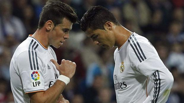 Image result for Ronaldo with Bale