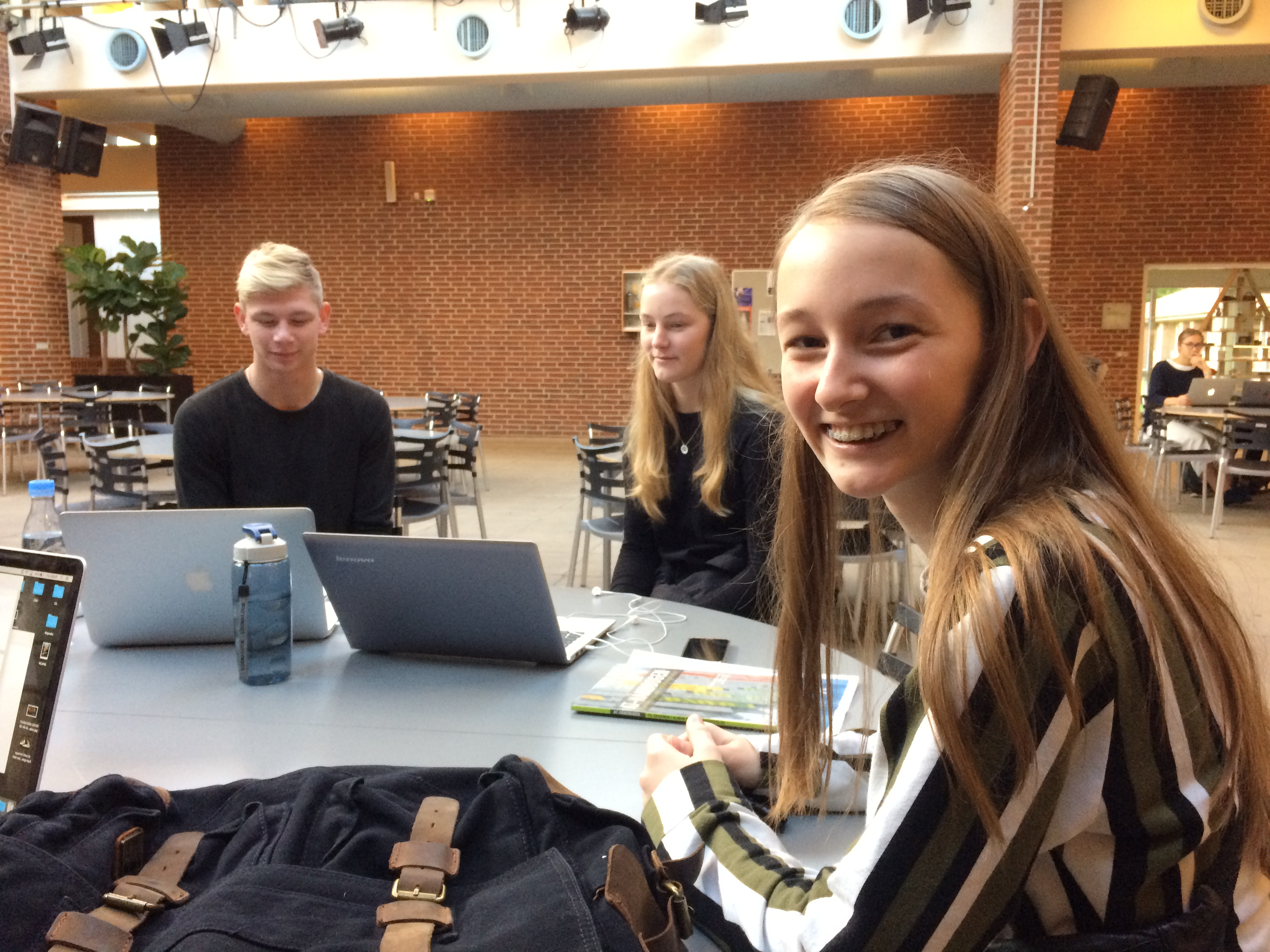 Katja Kejlstrup, Vejen Gymnasium
