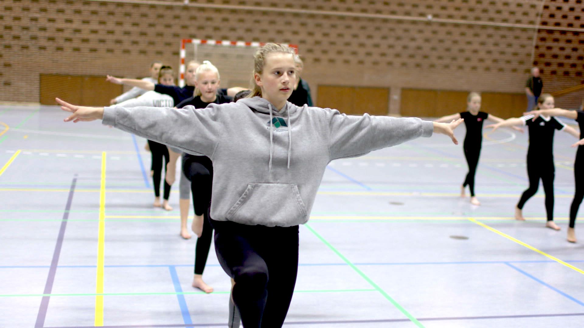 Gymnastikpiger
