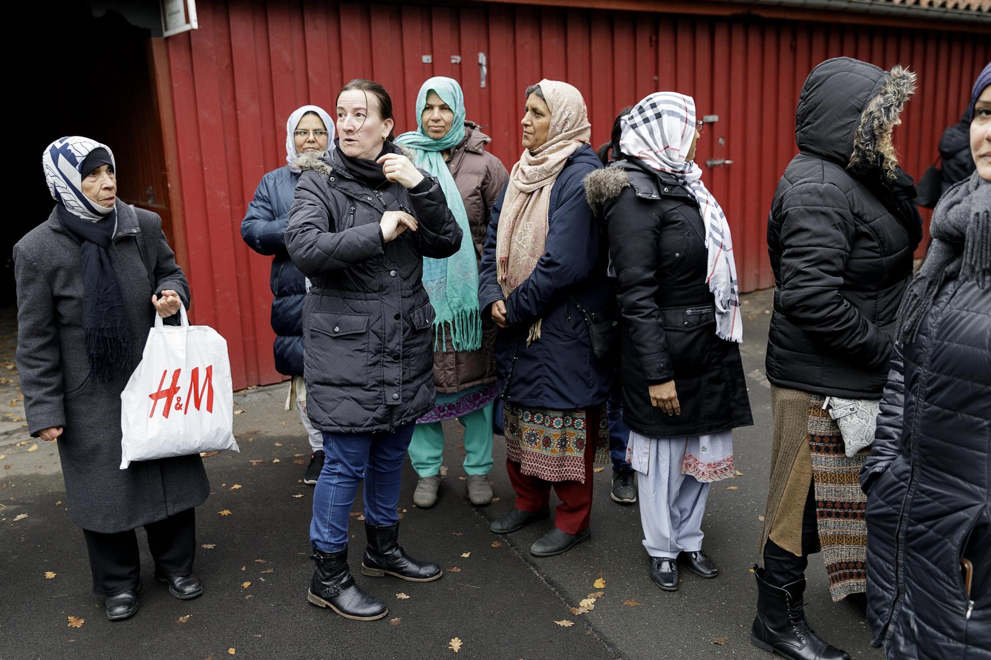 Indvandrerkvinder stemmer for første gang