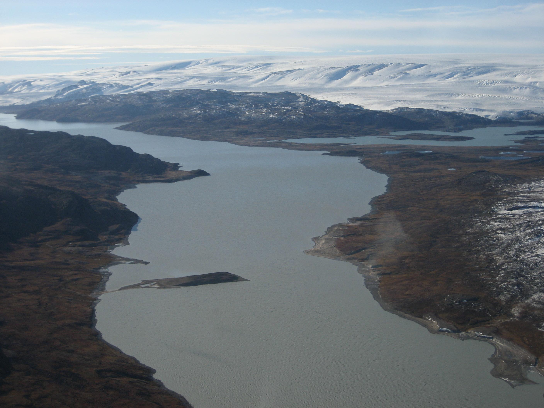 Tasersiaq-bassinet i det sydvestlige Grønland.