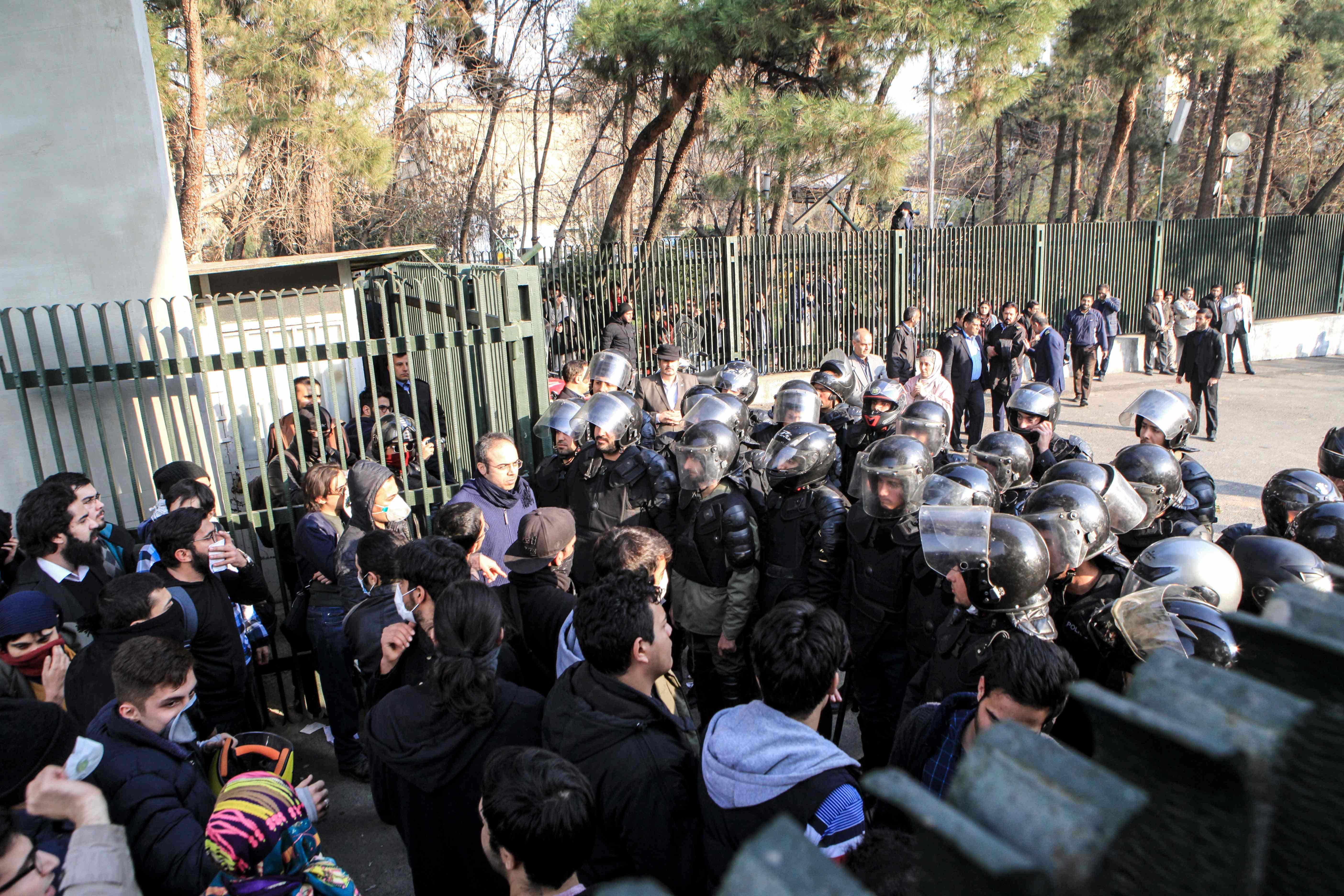 Ny iransk demonstration i dag