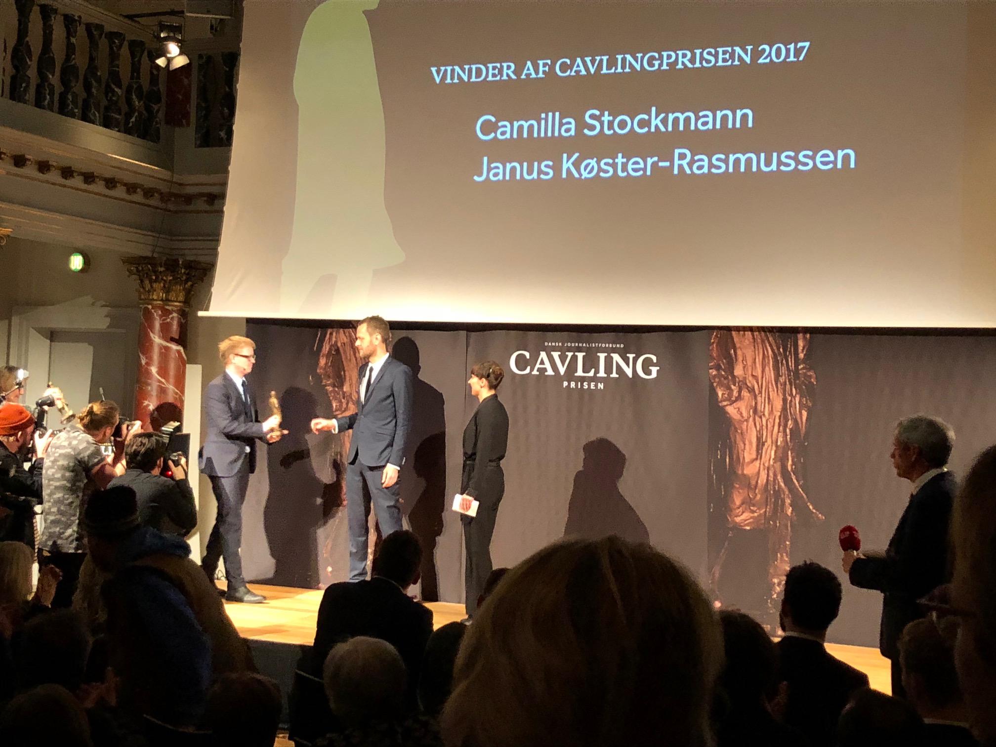 Cavlingprisen 2017