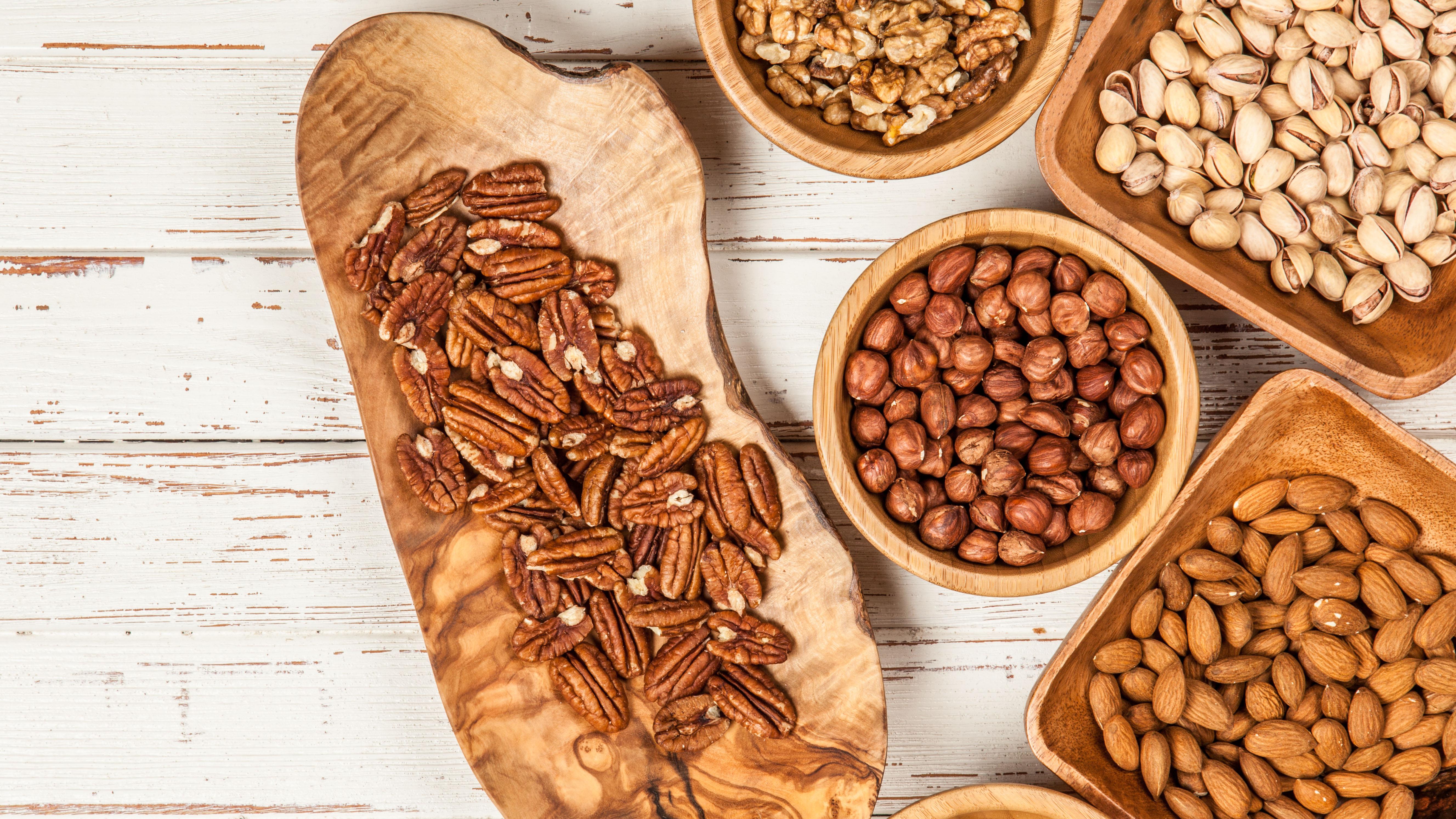 Blandede nødder