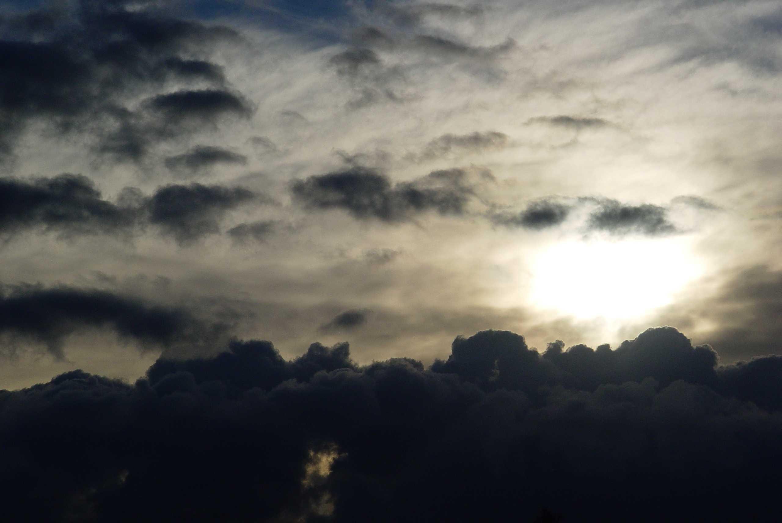 Solen forsvinder de næste dage