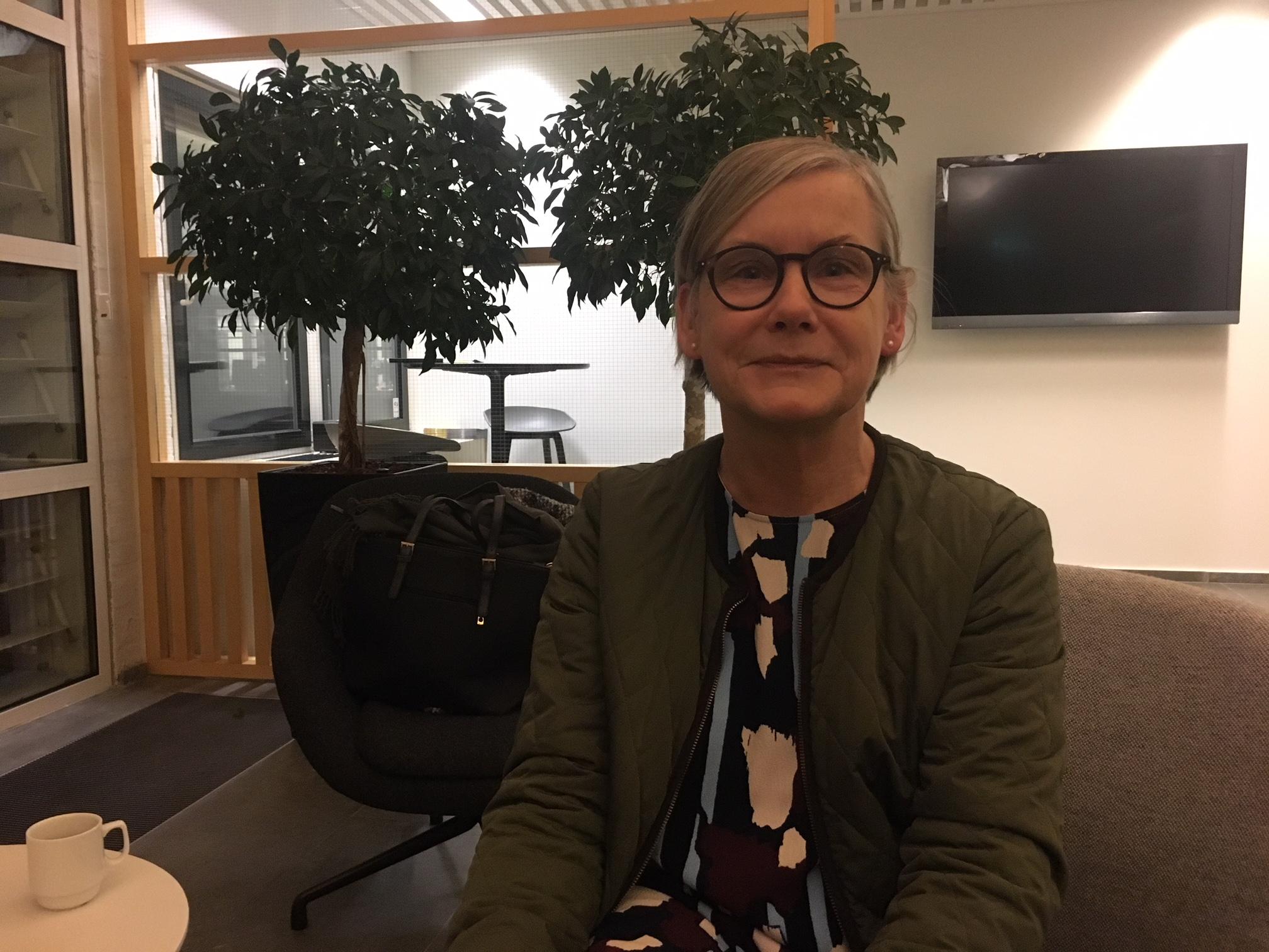 Jane Jacobsen, stress-deltager