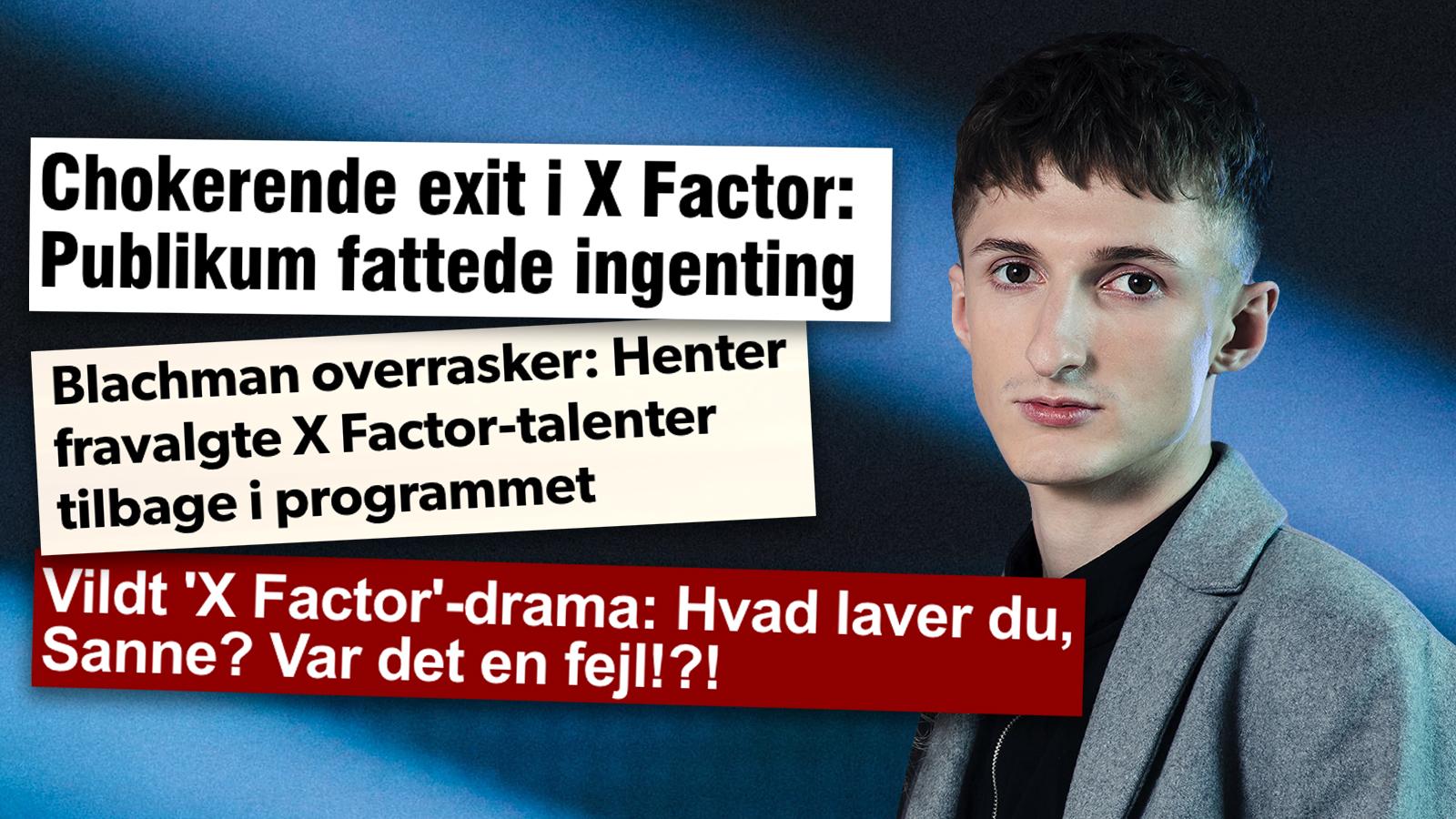 Andreas i X Factor
