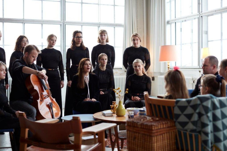 Dagens Sang med DR PigeKoret og Pernille Rosendahl