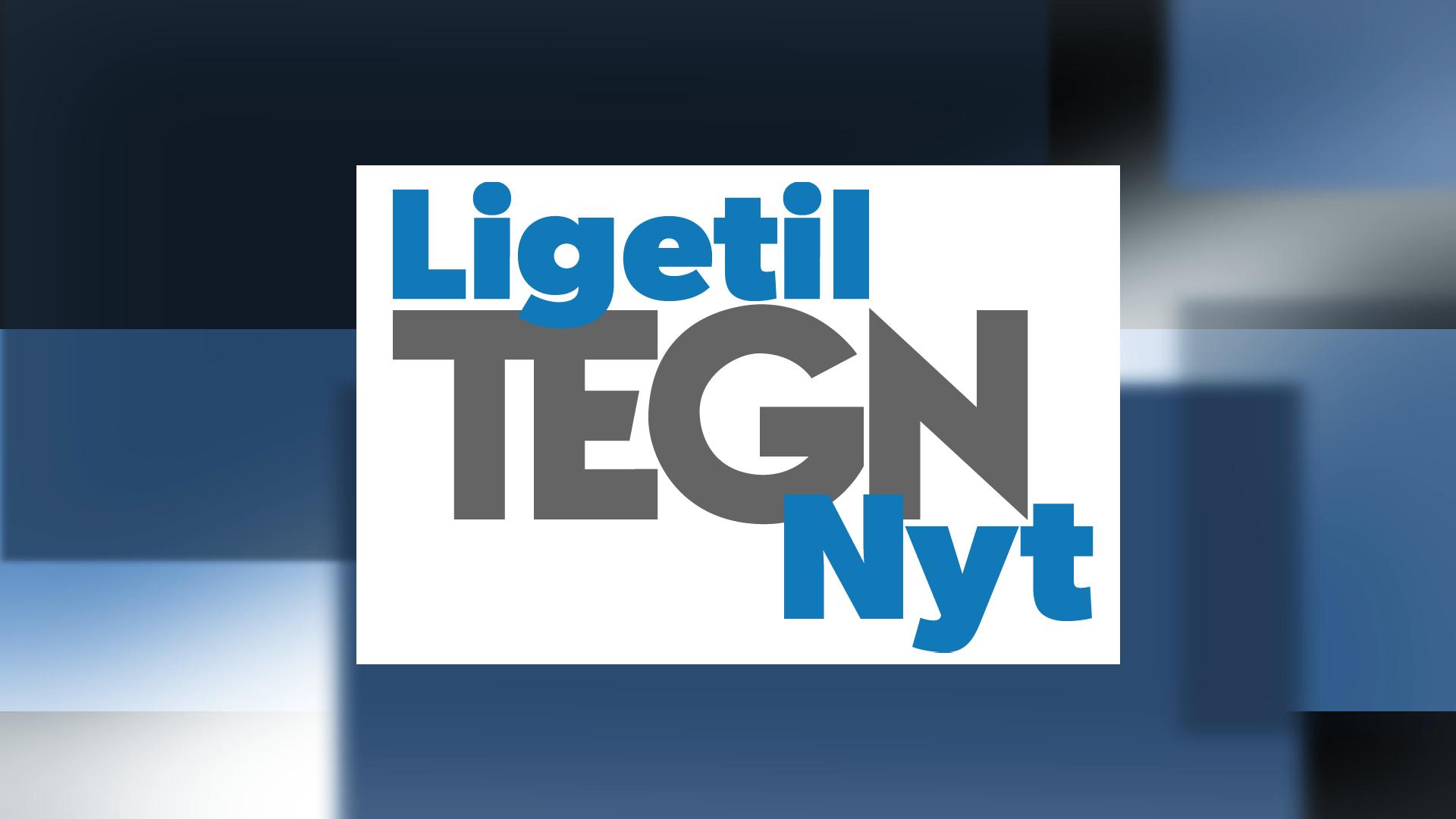 Ligetil Tegn Nyt logo