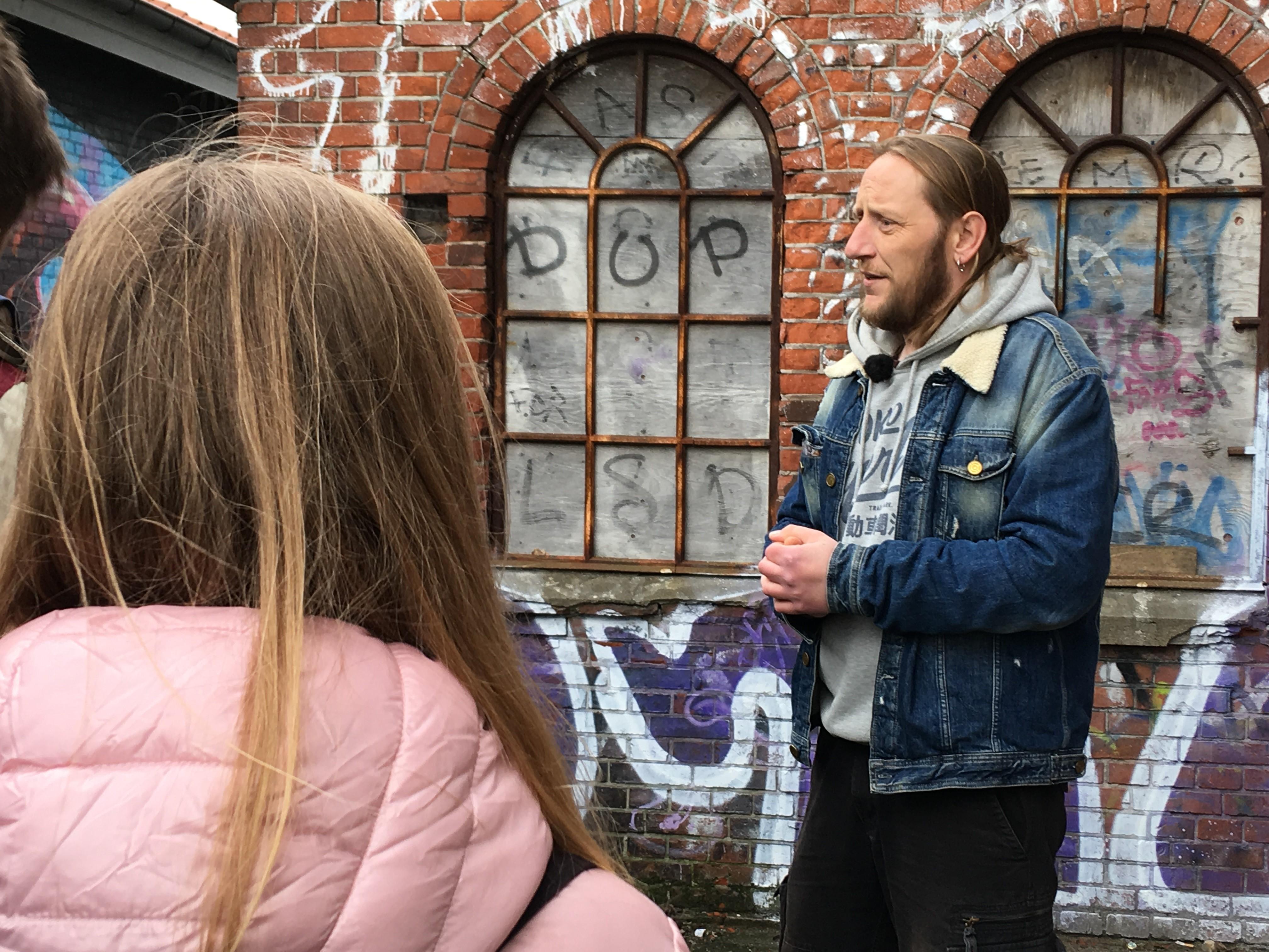 Rasmus fra Poverty Walk.
