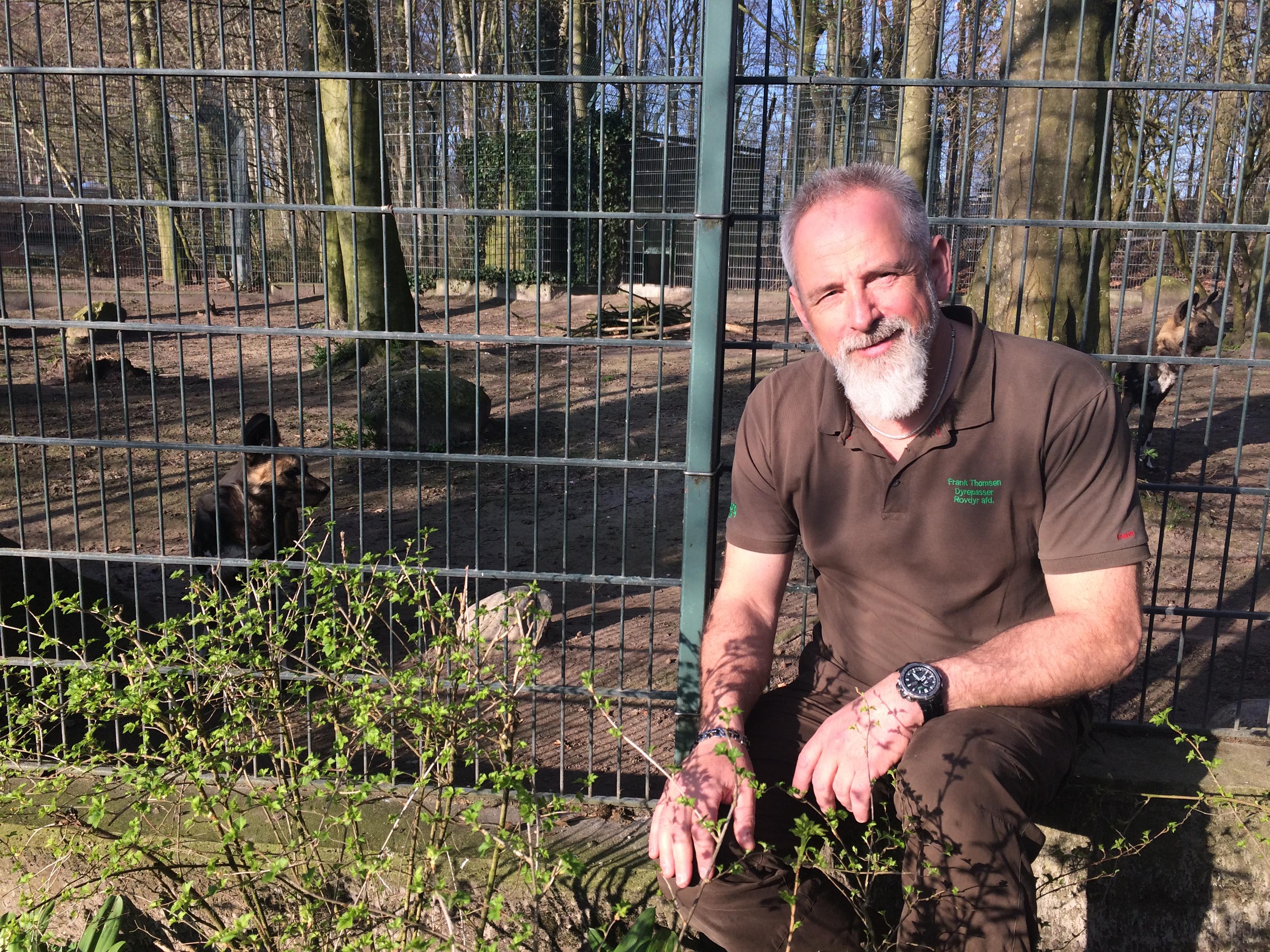 Frank Thomsen, rovdyrpasser Aalborg Zoo