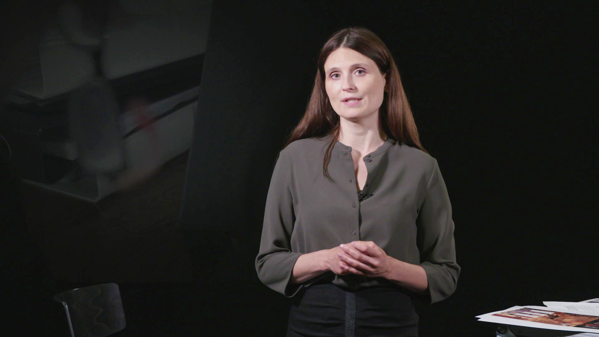 Line Gertsen, korrespondent, Undersøgende